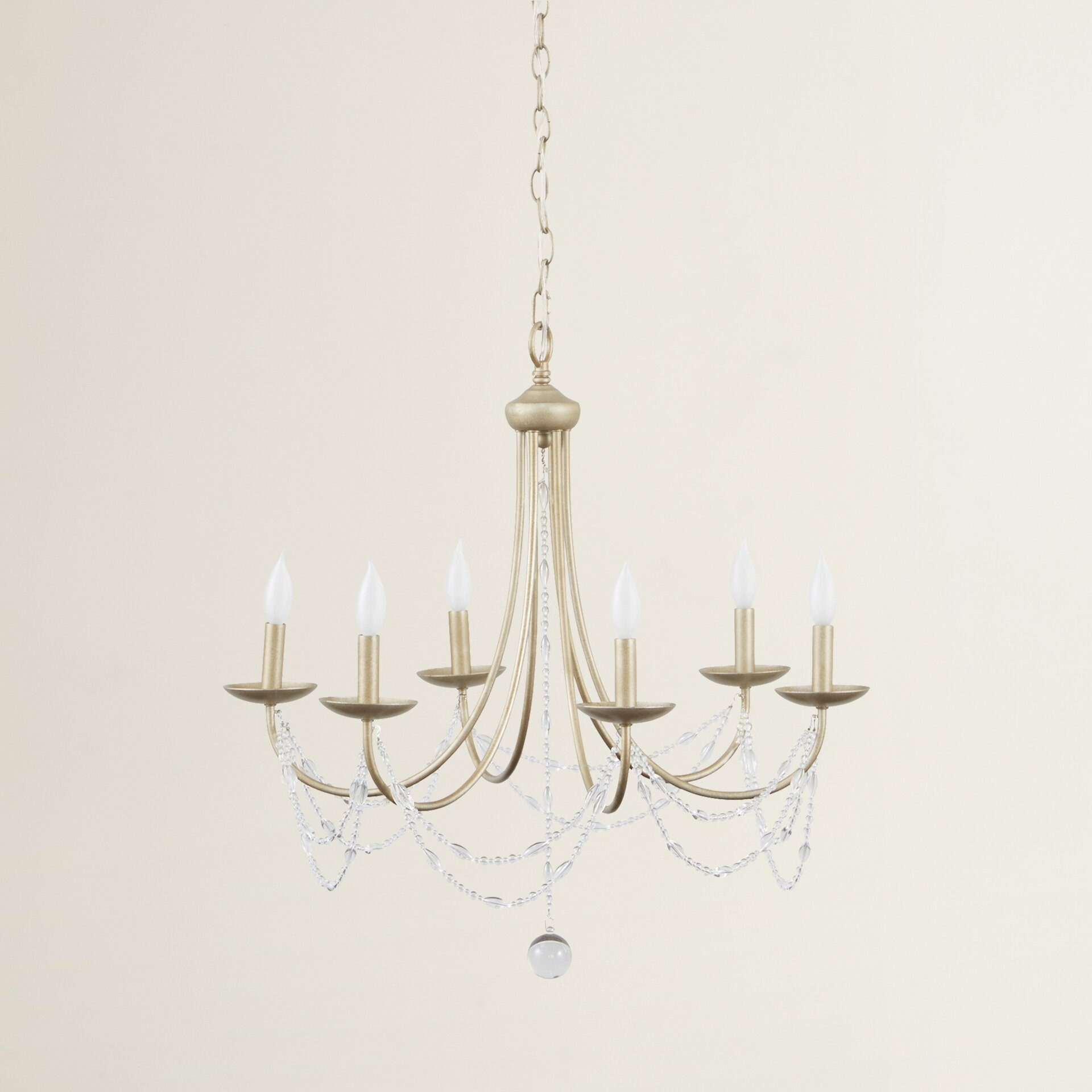 Wayfair Chandelier: Three Posts Atwood 6 Light Chandelier & Reviews
