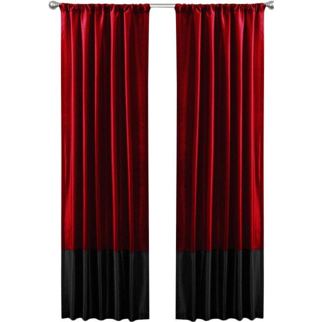 Three Posts Philipsburg Rod Pocket Blackout Curtain Panels Reviews Wayfair
