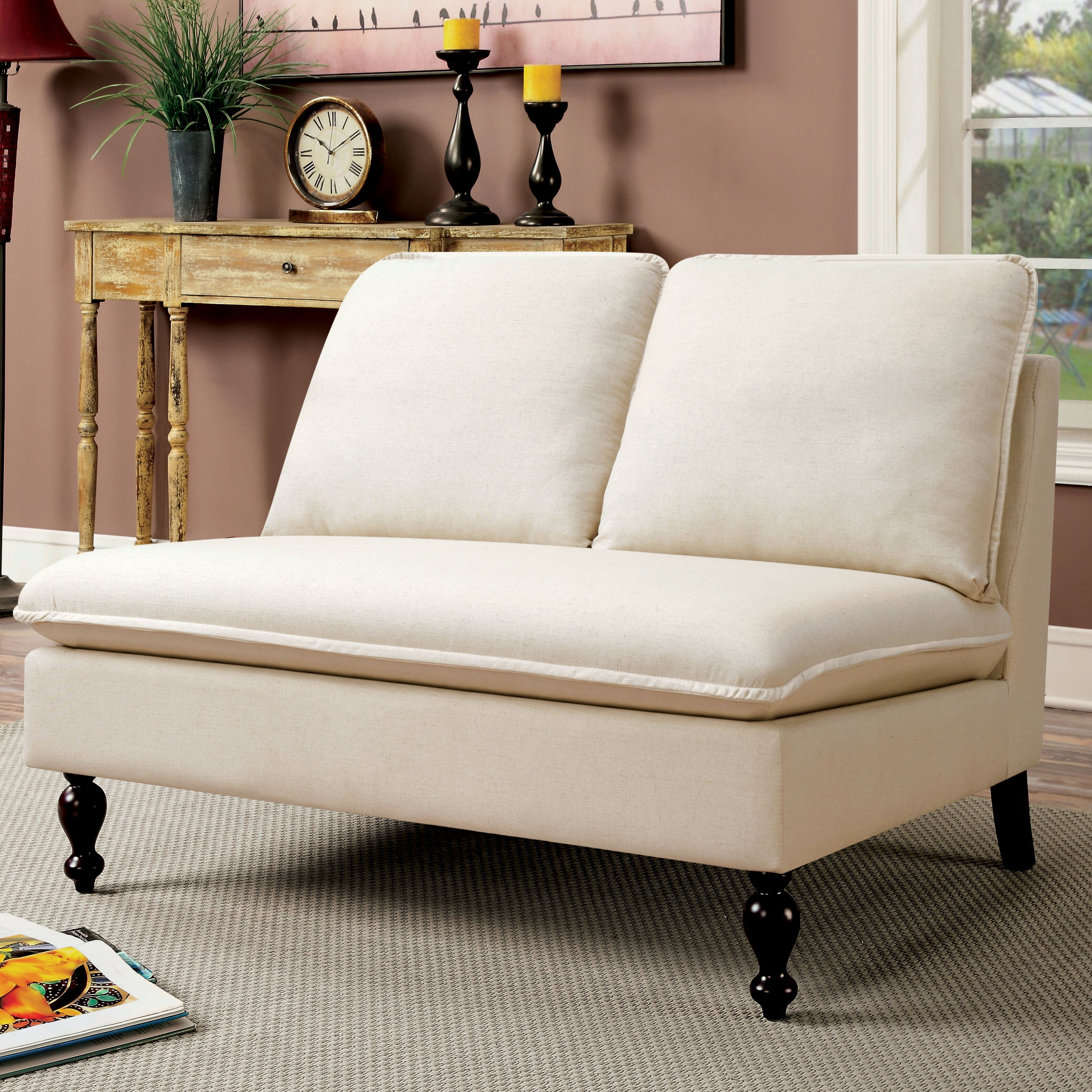 ... Modern Furniture Worcester Ma By Three Posts Worcester Contemporary  Settee Amp Reviews ...