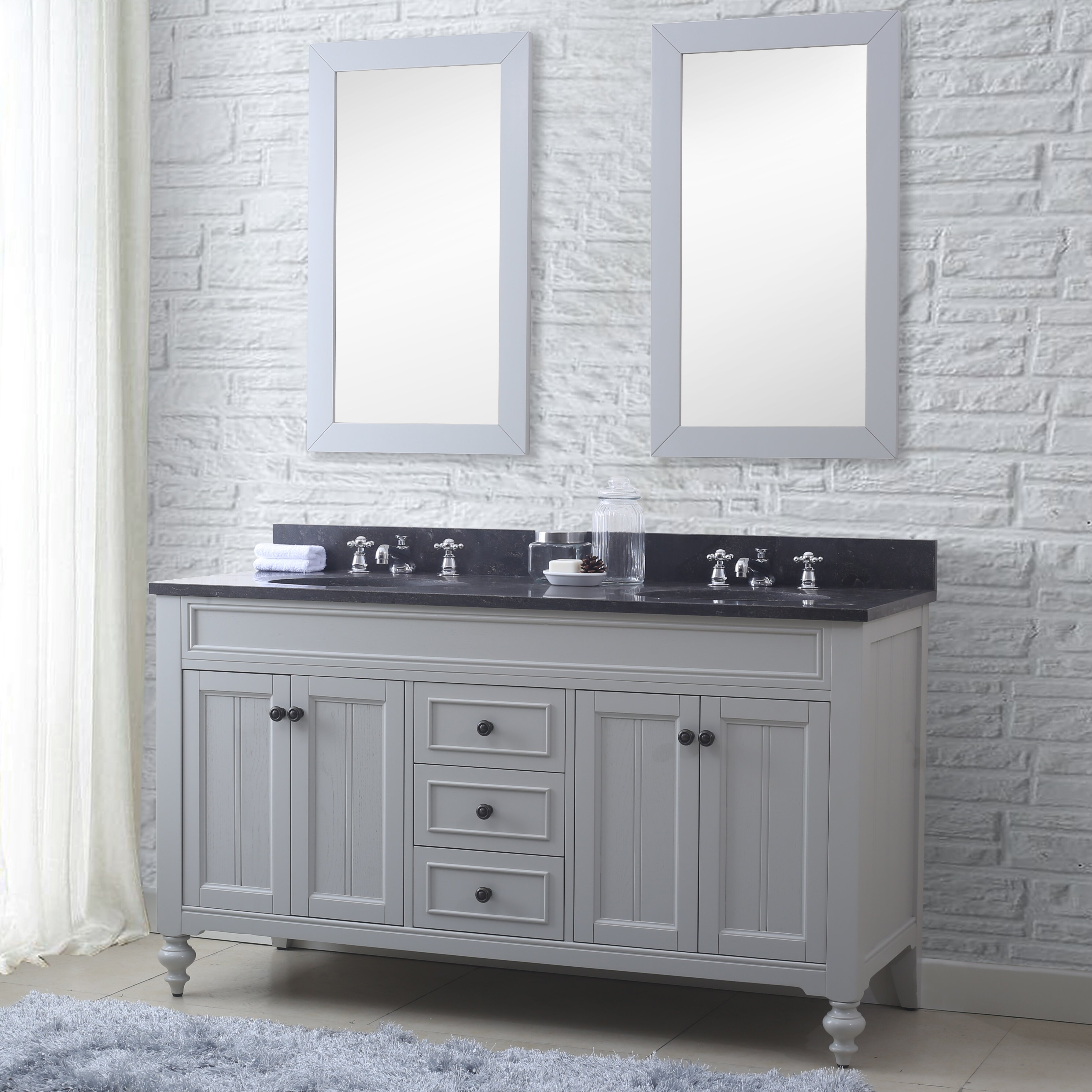 23 Perfect Bathroom Vanities With Two Mirrors