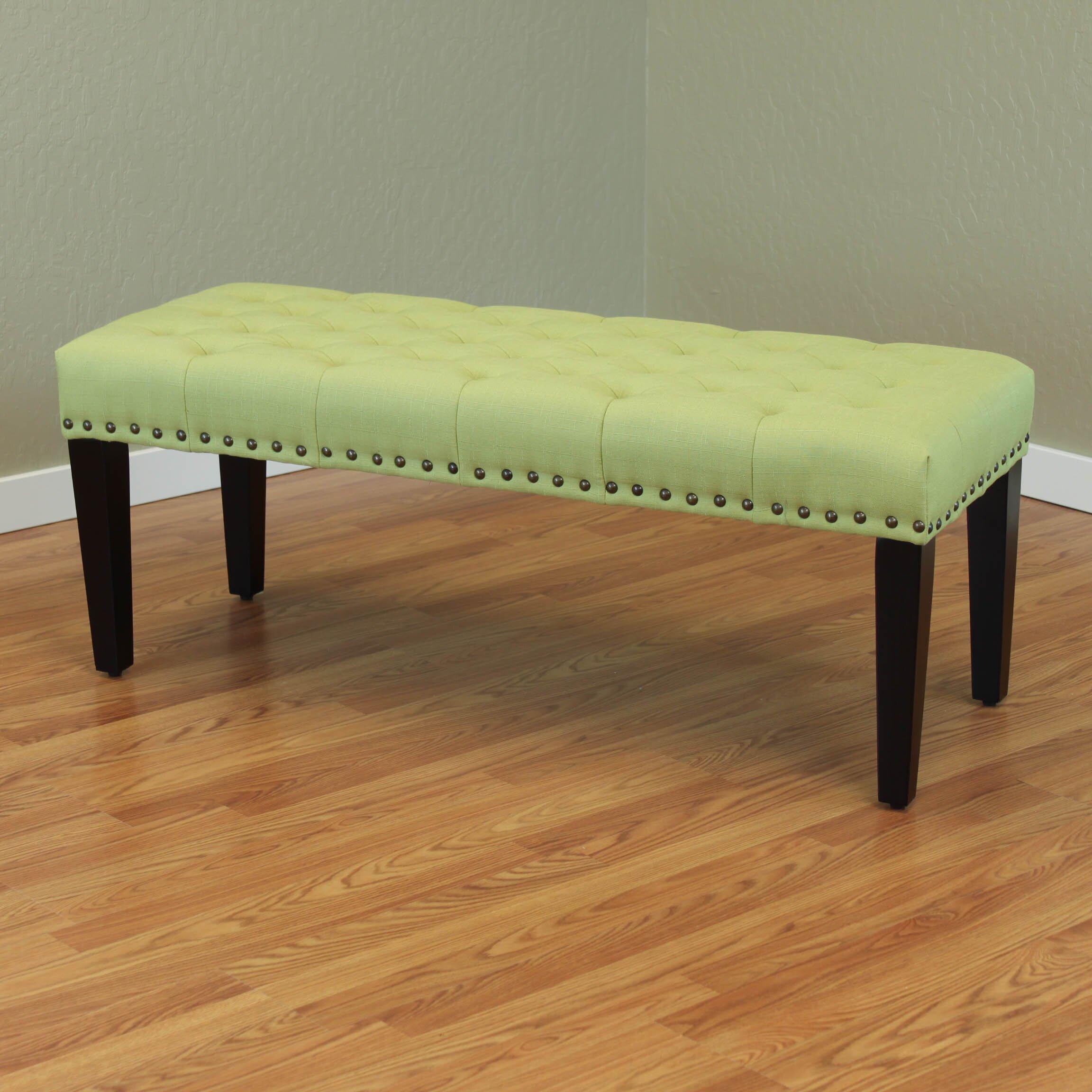 Three Posts Mapletown Upholstered Bedroom Bench Reviews Wayfair