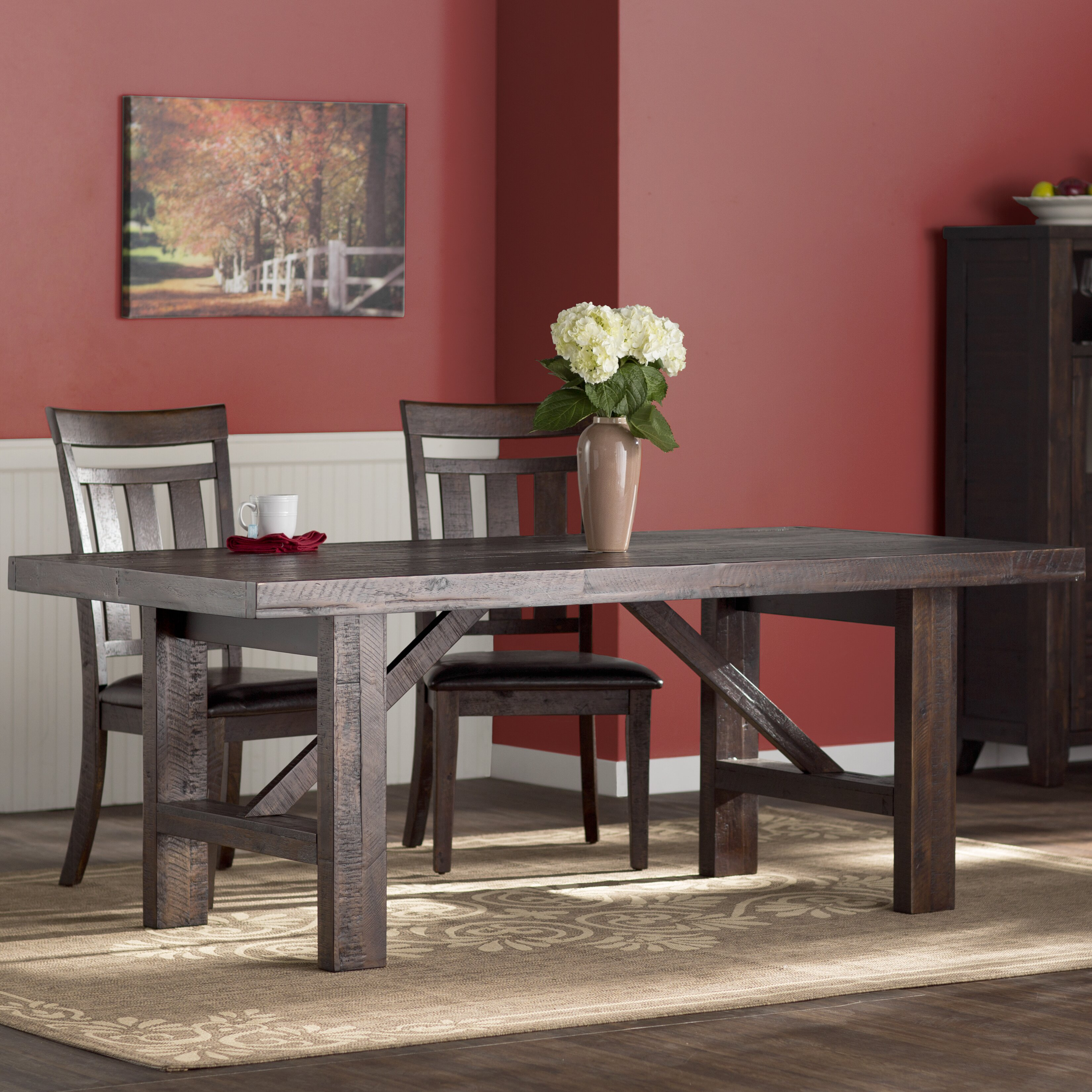 Kitchen Dining Room: Three Posts Apple Valley Dining Table & Reviews