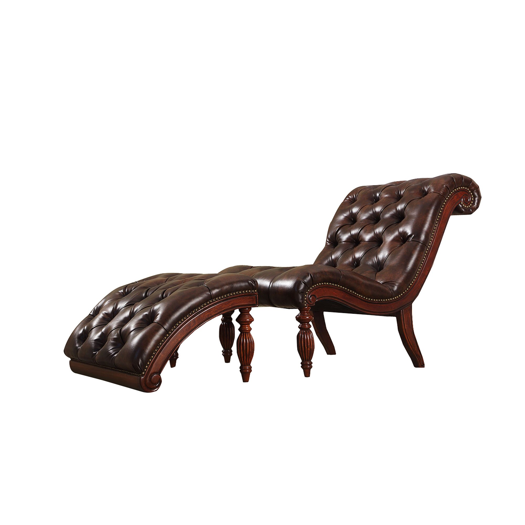 Three posts cedarville chaise lounge and ottoman set for Chaise and ottoman