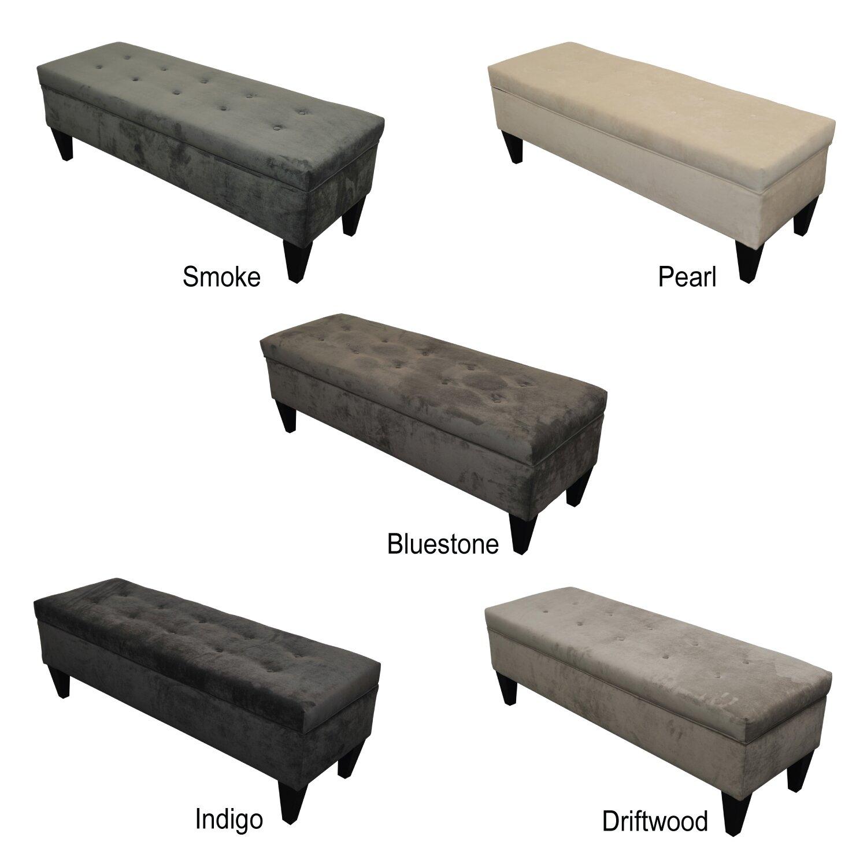 Three Posts Tusarora Upholstered Storage Bedroom Bench Reviews Wayfair