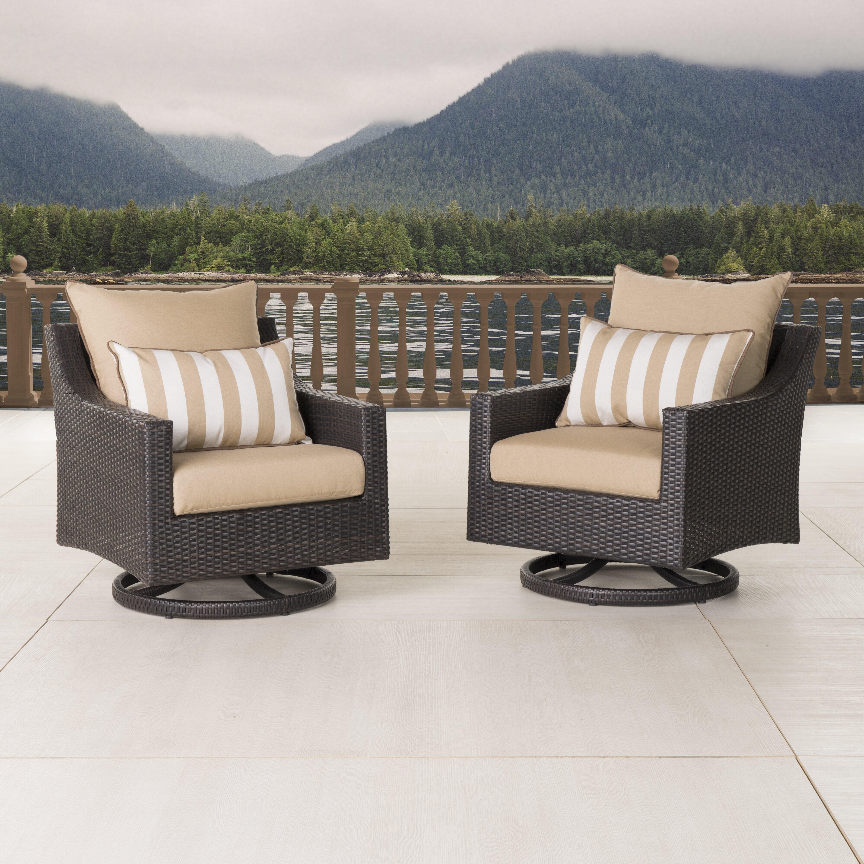 Patio Furniture Near Northridge Ca: Three Posts Northridge Motion Club Chair With Cushions