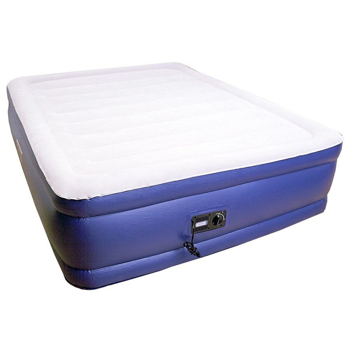 airtek keystone deluxe 20 raised air mattress with built. Black Bedroom Furniture Sets. Home Design Ideas