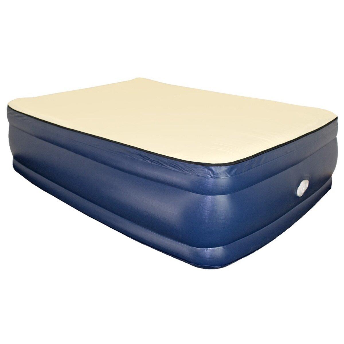 Airtek Foundation 22 Quot Raised Memory Foam Air Mattress With
