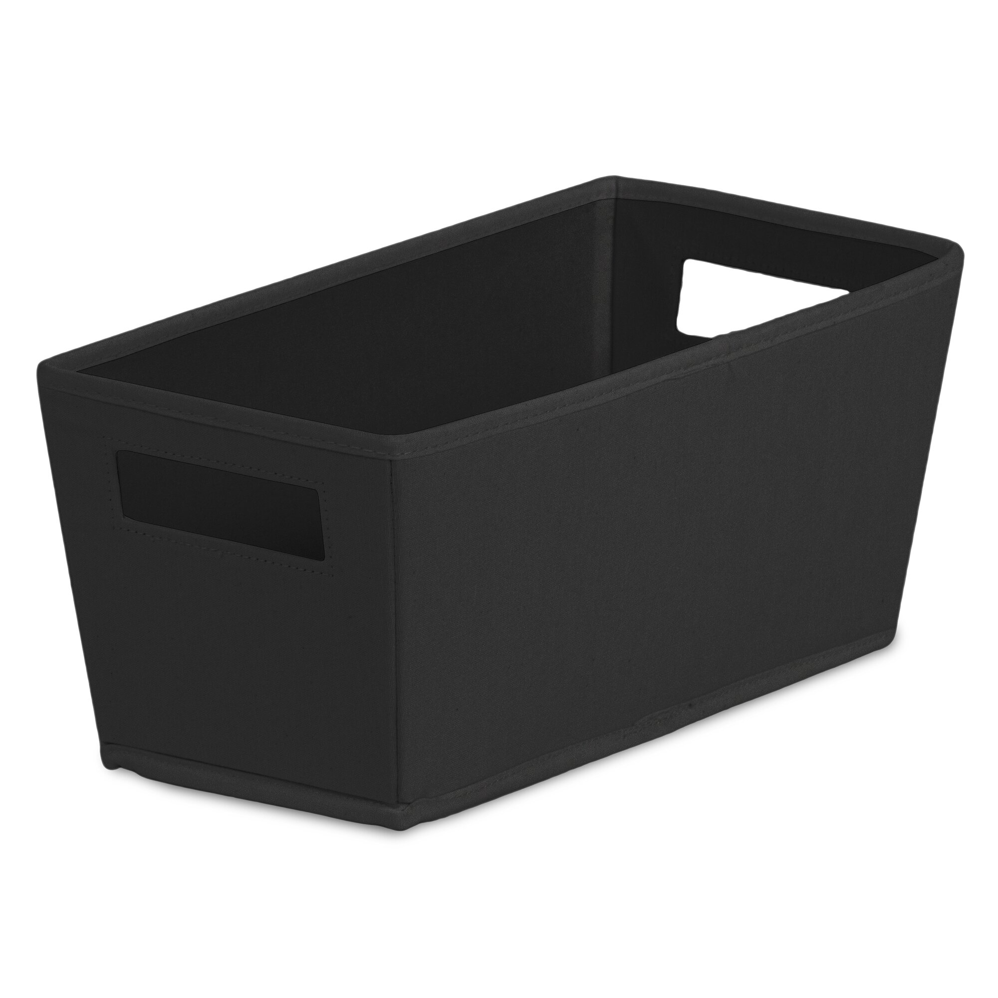 Bin fabric quarter storage bin reviews wayfair for Fabric storage