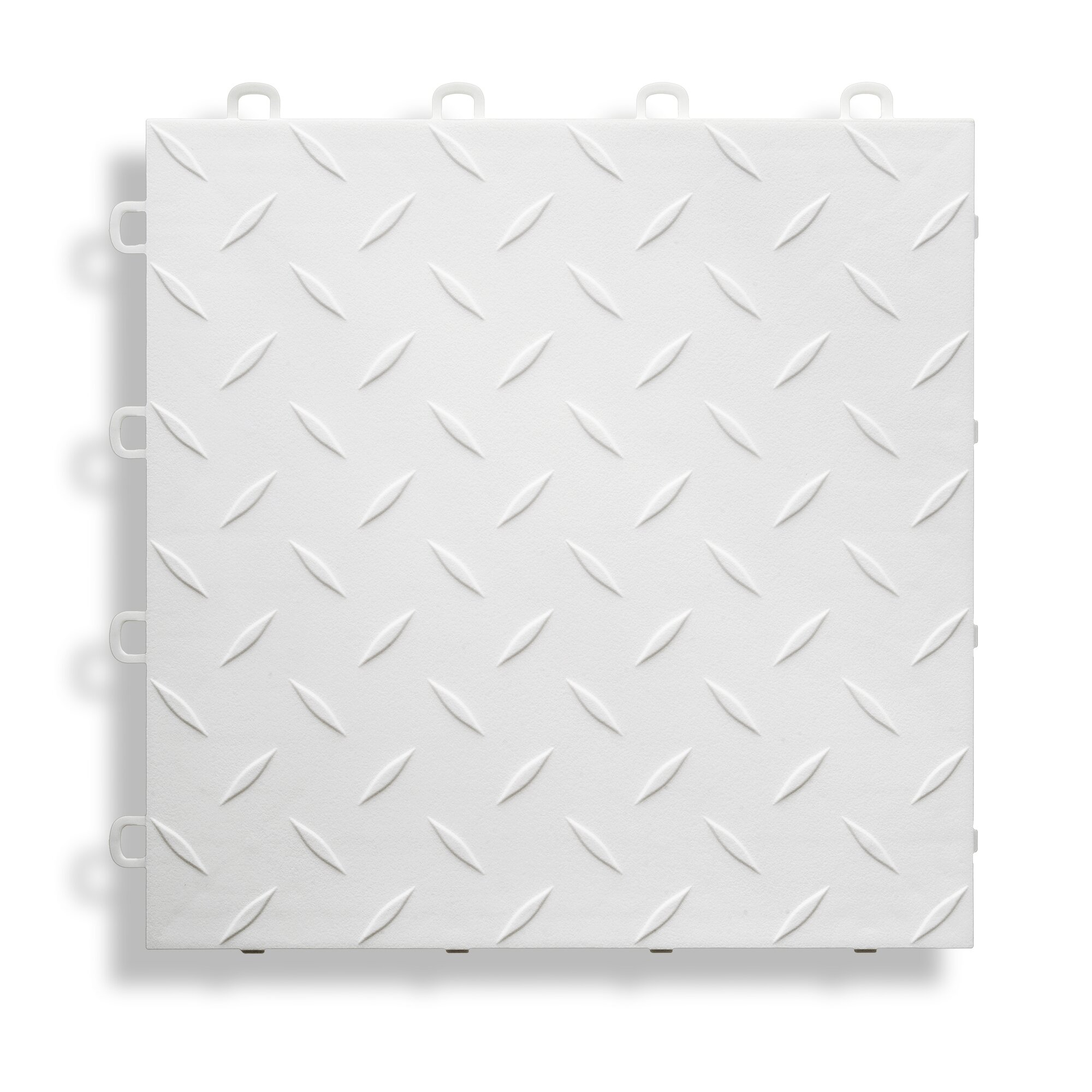 BlockTile 12 X 12 Garage Flooring Tile In White Reviews W