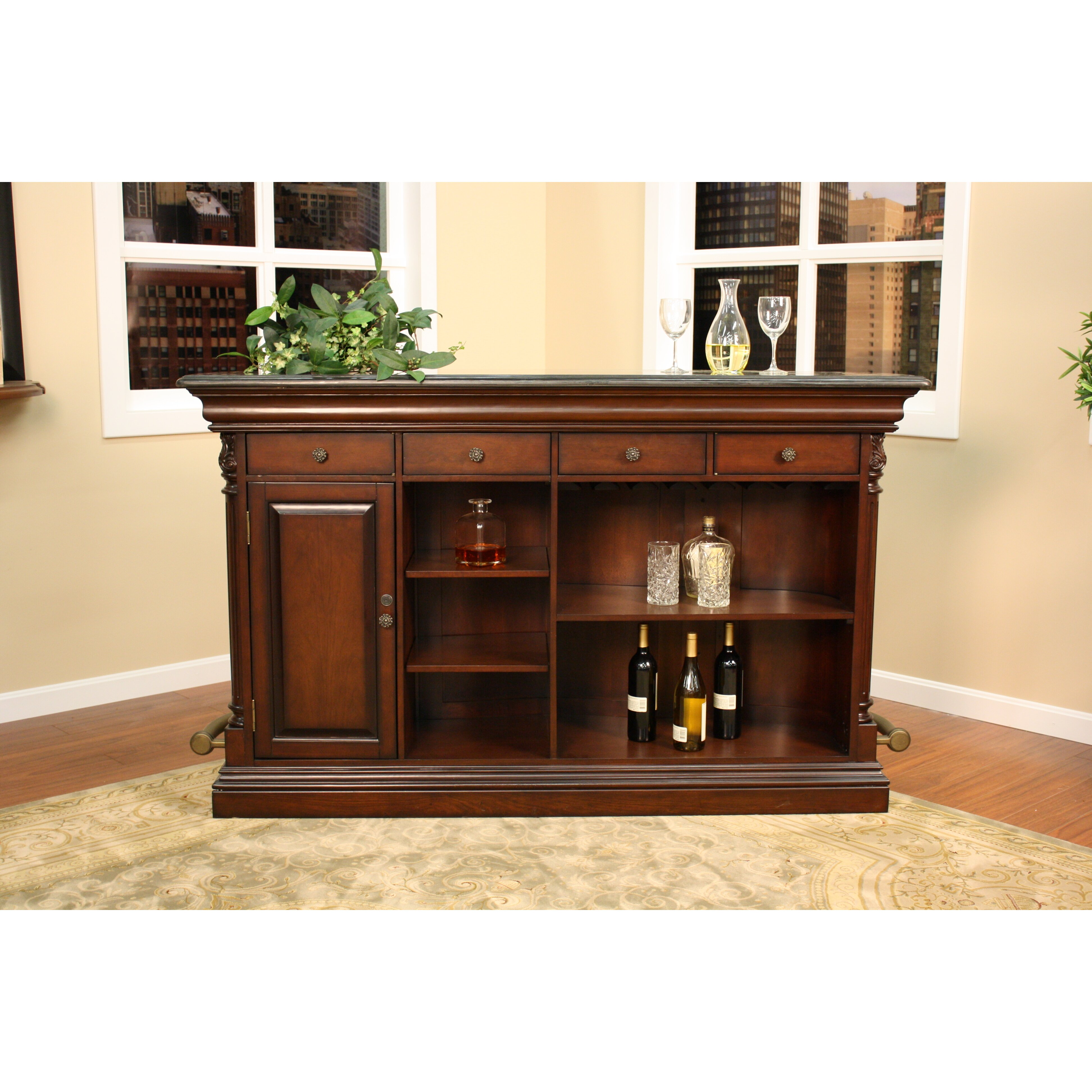 American Heritage Emilio Bar With Wine Storage Reviews