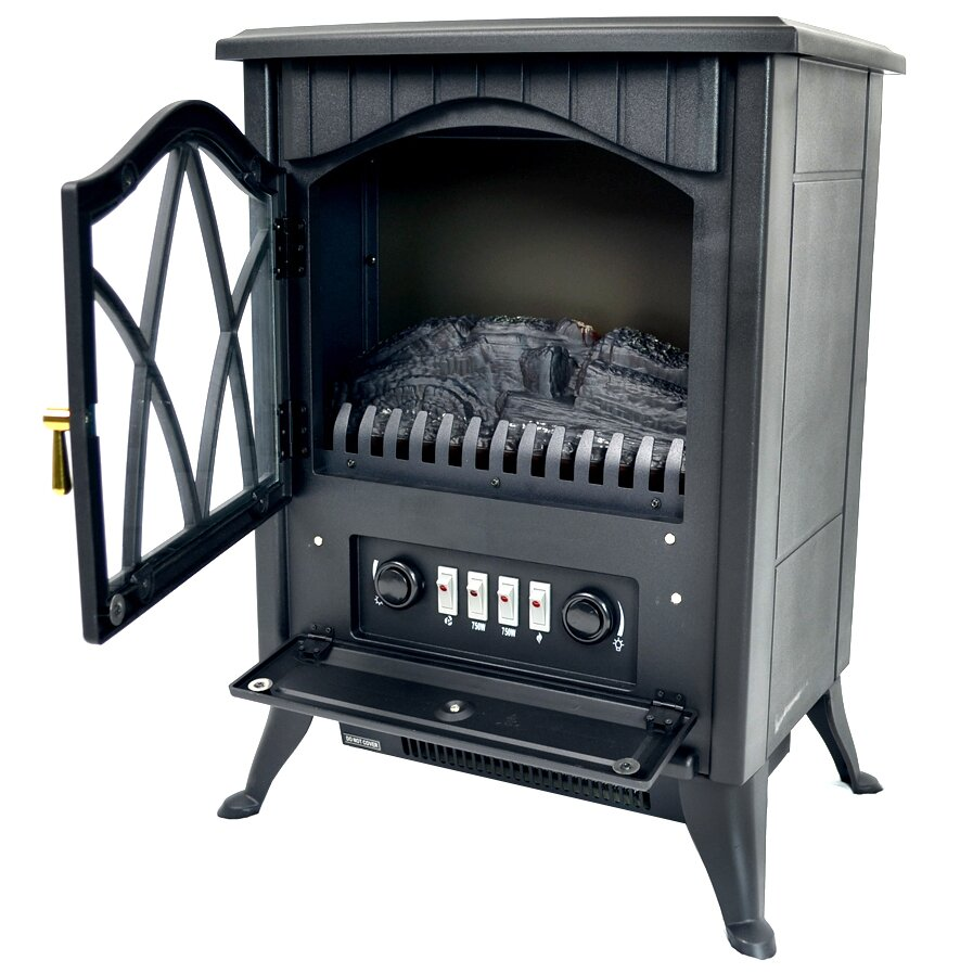 Akdy Vintage Stove Heater Electric Fireplace Reviews Wayfair