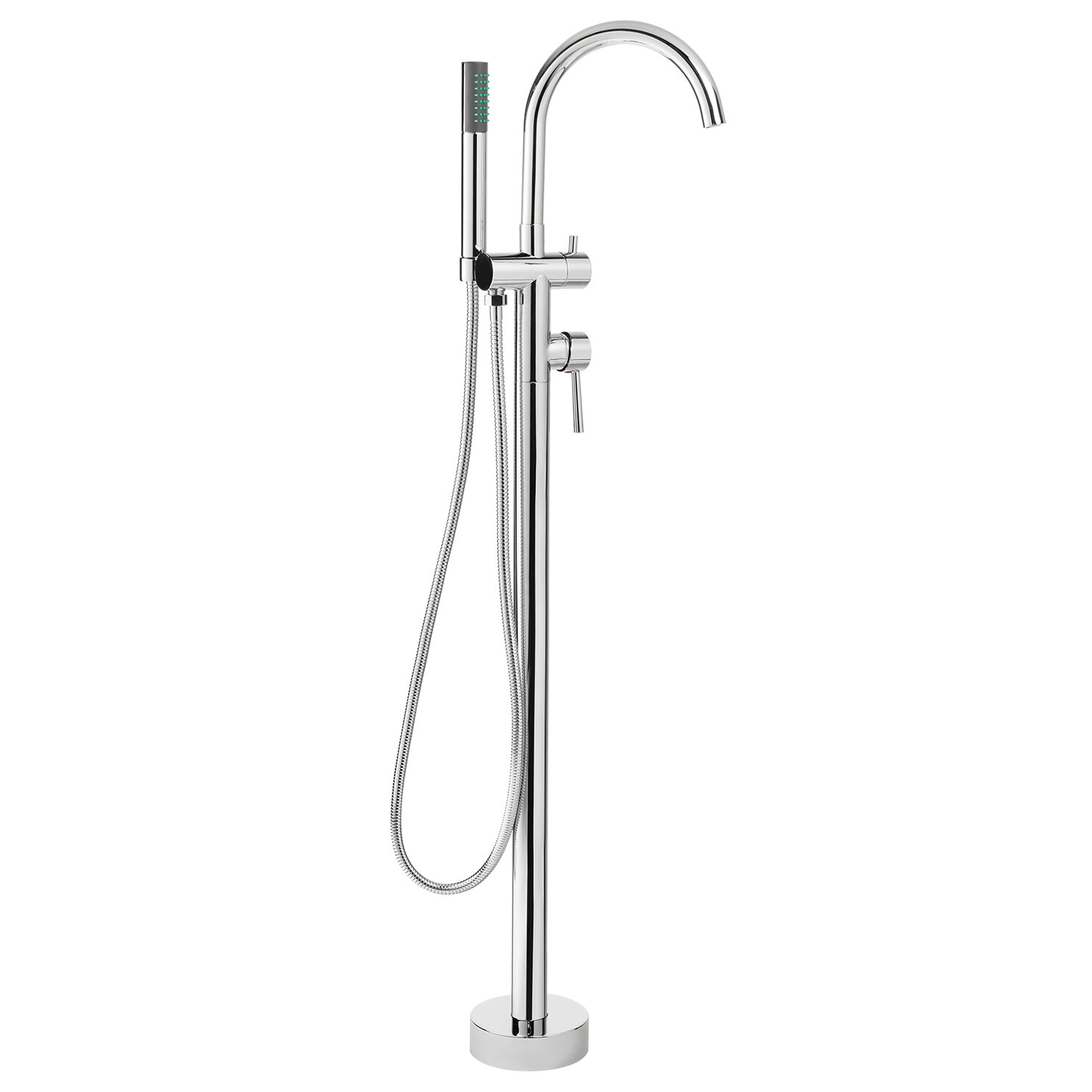 AKDY Diverter Tub and Shower Faucet with Single Handle