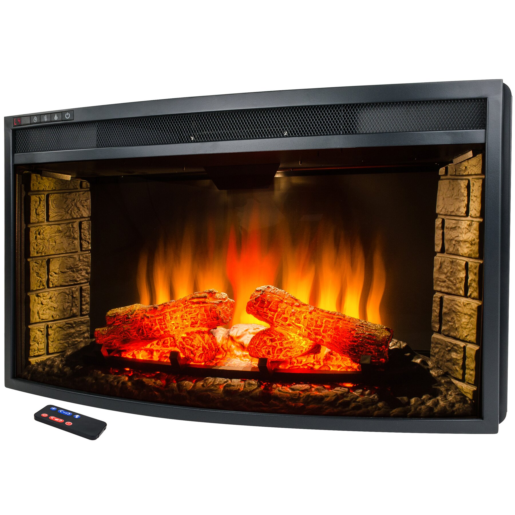 Akdy Freestanding Electric Fireplace Insert Reviews Wayfair