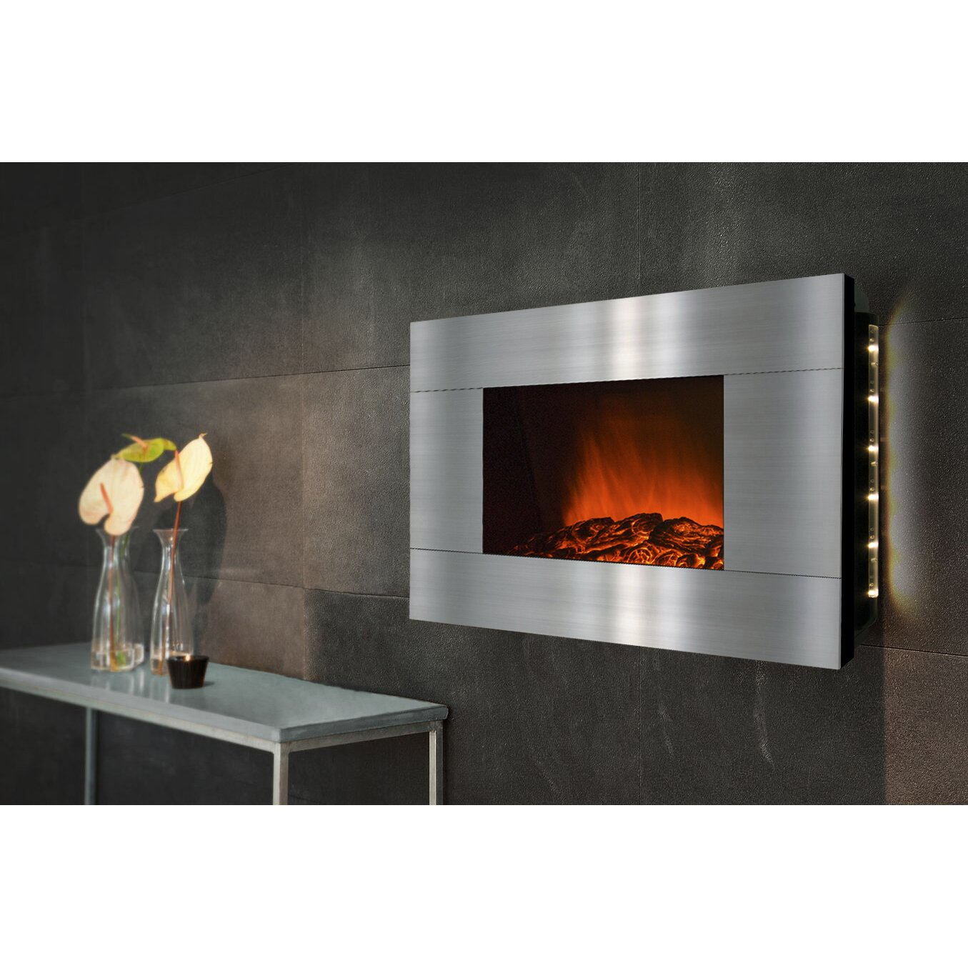 Akdy Freestanding Electric Fireplace Reviews