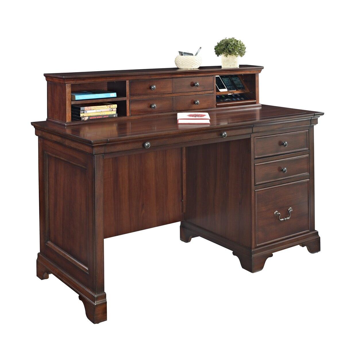 Turnkey Llc Broadway Writing Desk With Hutch Reviews