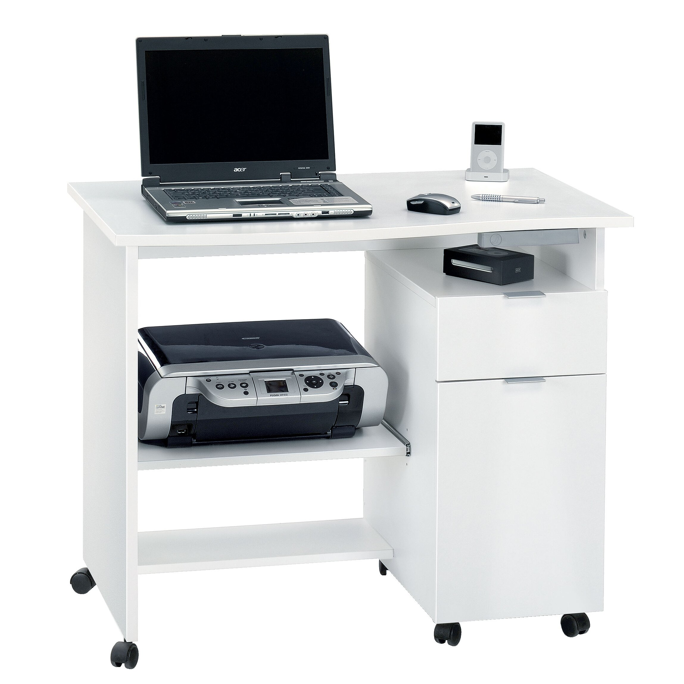 Computer Desk Cabinet Techni Mobili W Storage File