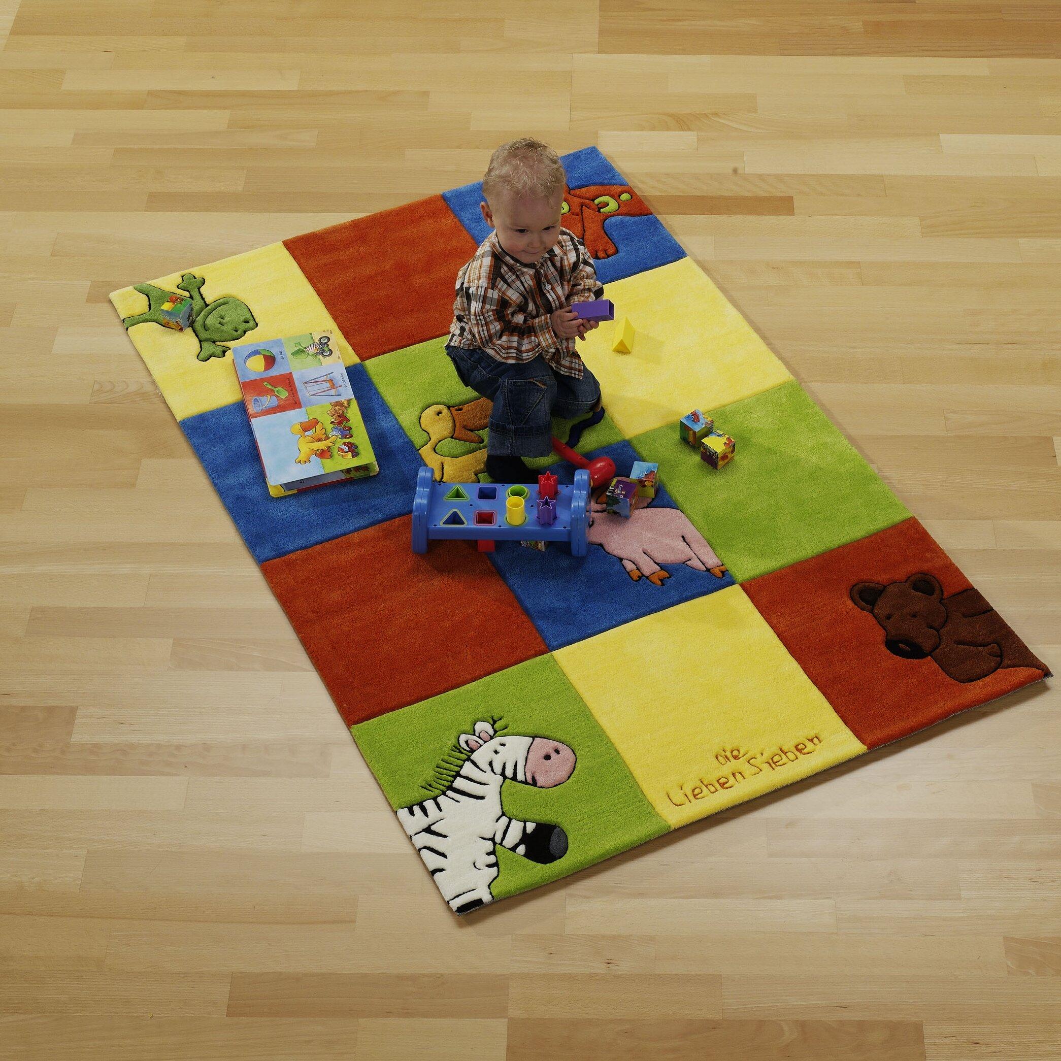 Boeing Carpet GmbH Handgewebter Teppich in Bunt