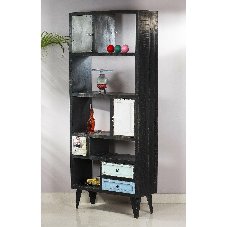 sit m bel antwerp tall wide bookcase wayfair uk. Black Bedroom Furniture Sets. Home Design Ideas