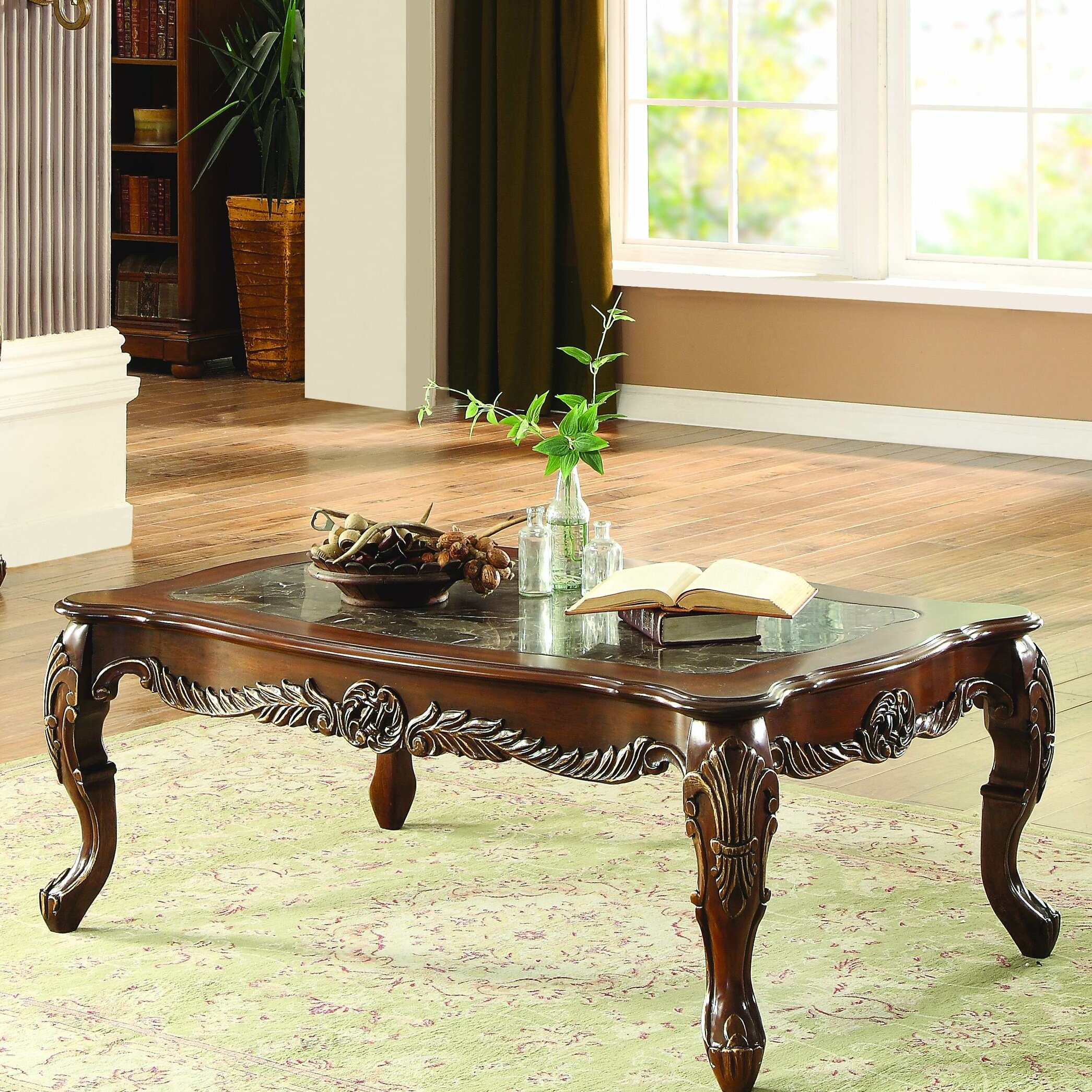 Marble Coffee Table Marks And Spencer: Homelegance Logan Coffee Table
