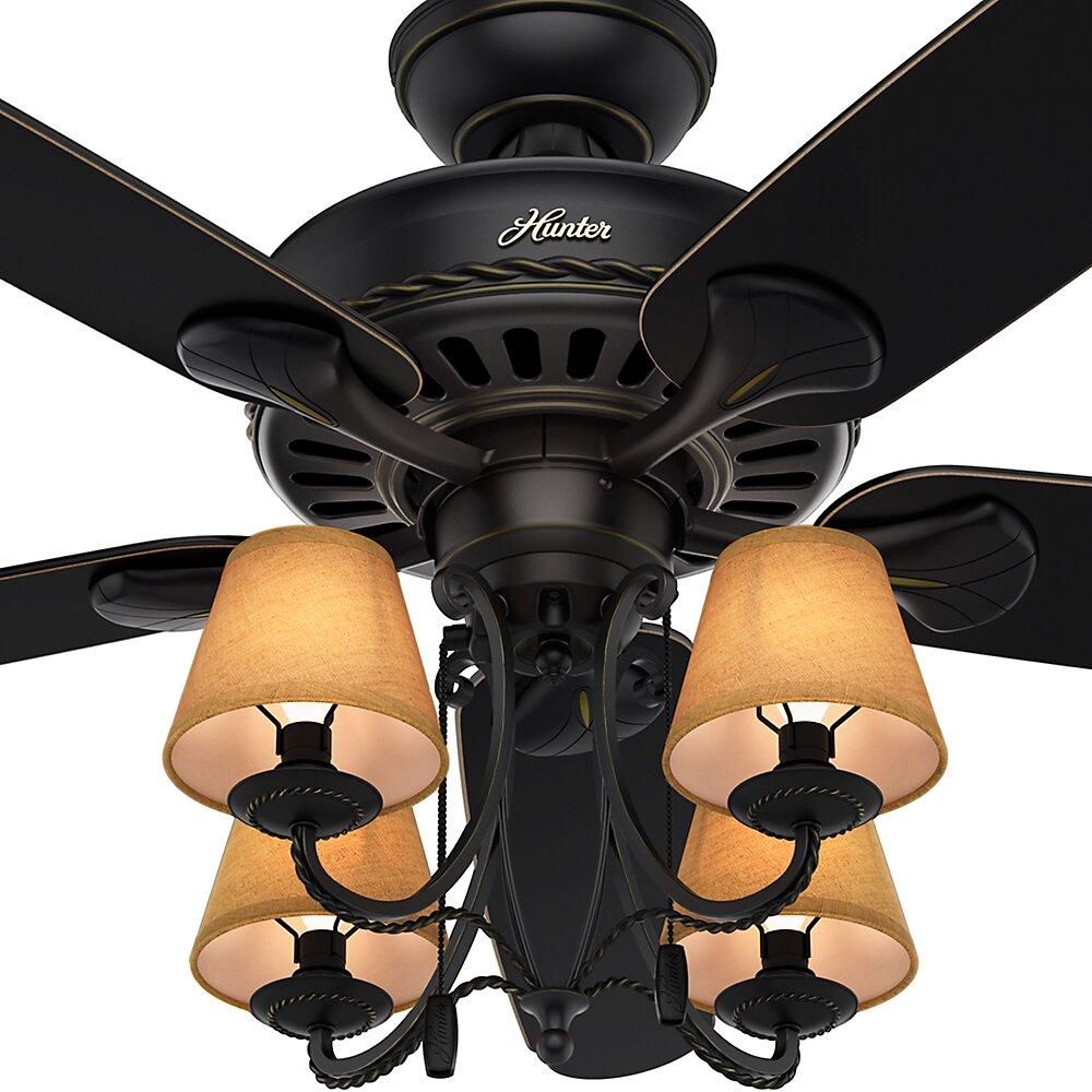 Hunter Fan 54 Cortland 5 Blade Ceiling Fan Amp Reviews