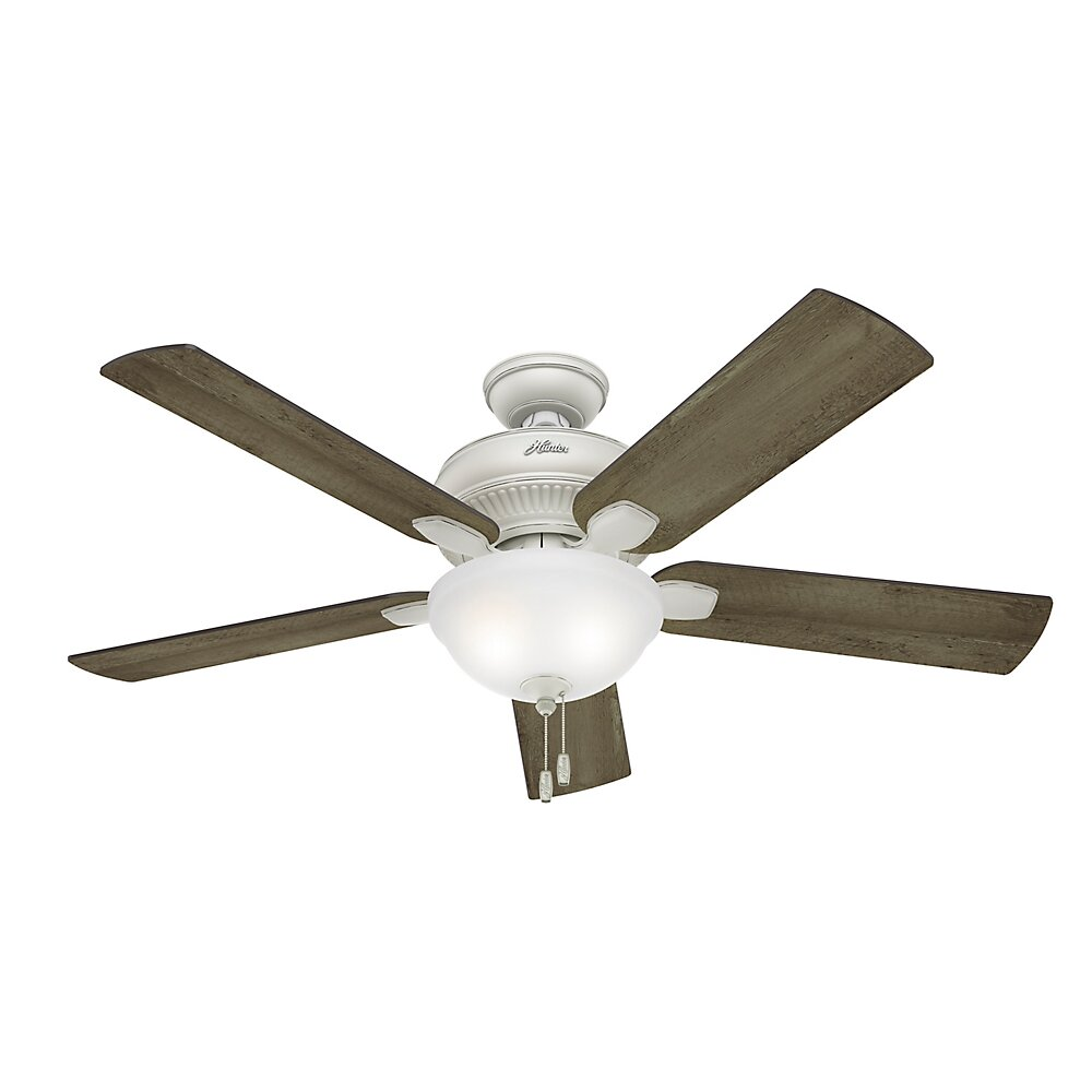 "Hunter Fan 54"" Matheston 5 Blade Ceiling Fan & Reviews"