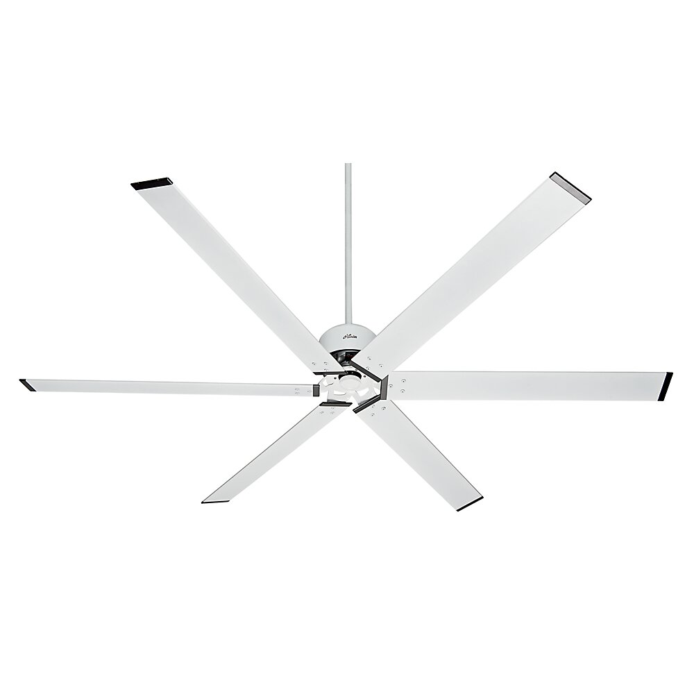 Hunter Fan 96 Industrial 6 Blade Ceiling Fan Amp Reviews