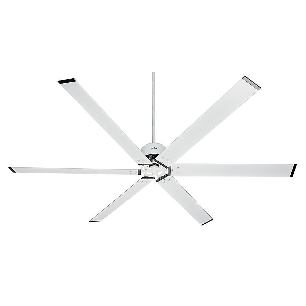 """Large Ceiling Fan Industrial: Hunter Fan 96"""" Industrial 6 Blade Ceiling Fan & Reviews"""