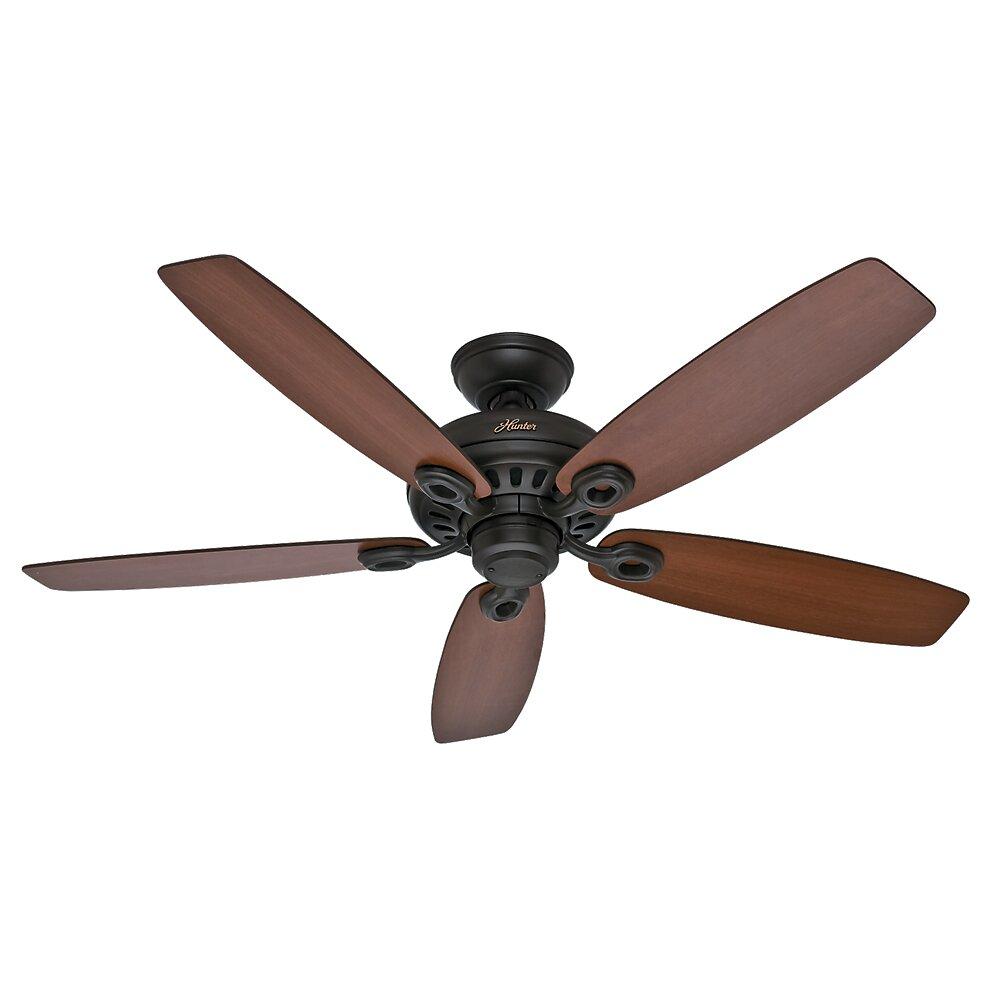 """Hunter Fan 52"""" Markham 5 Blade Ceiling Fan & Reviews"""
