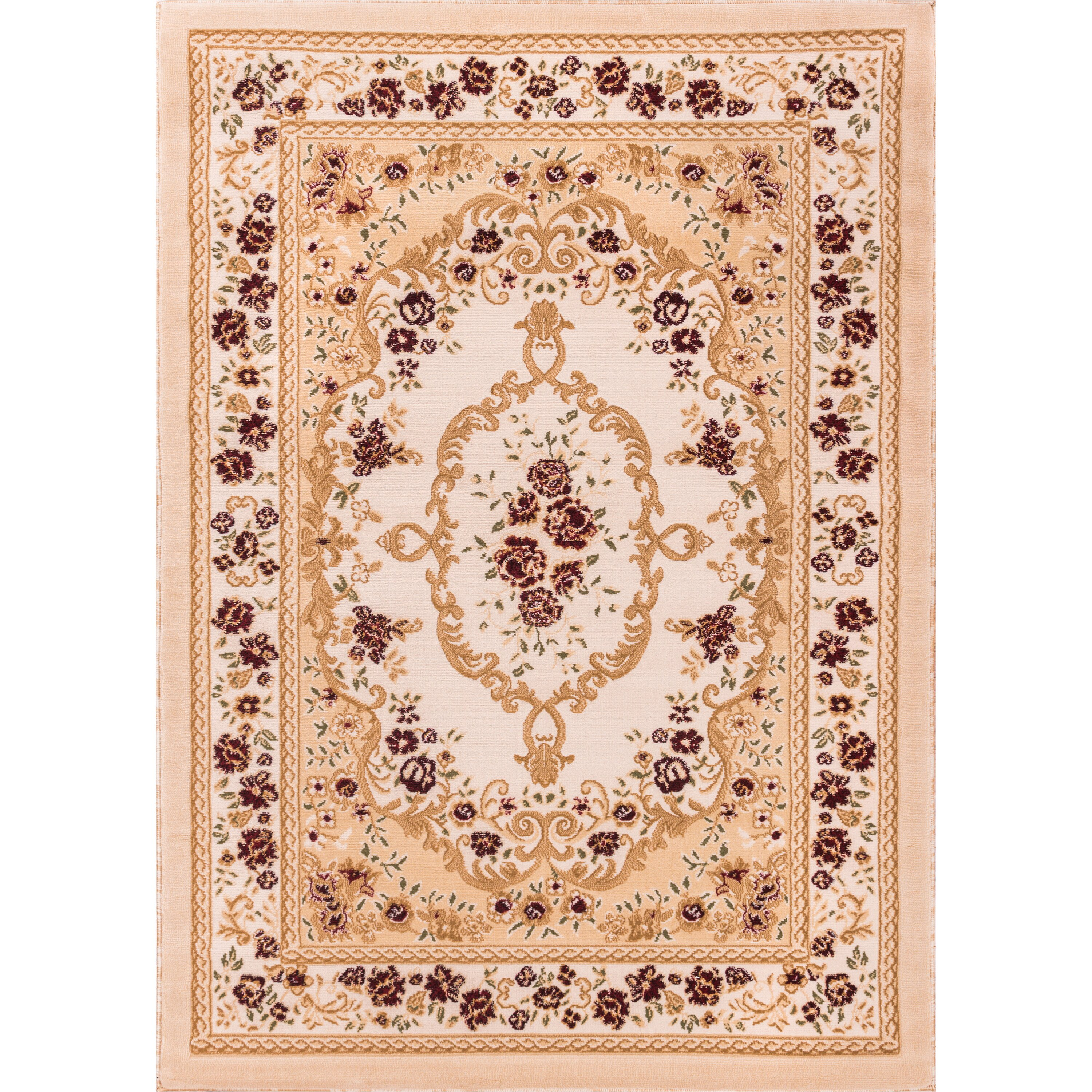 Dog Eating Wool Rug: Well Woven Comfy Living Area Rug