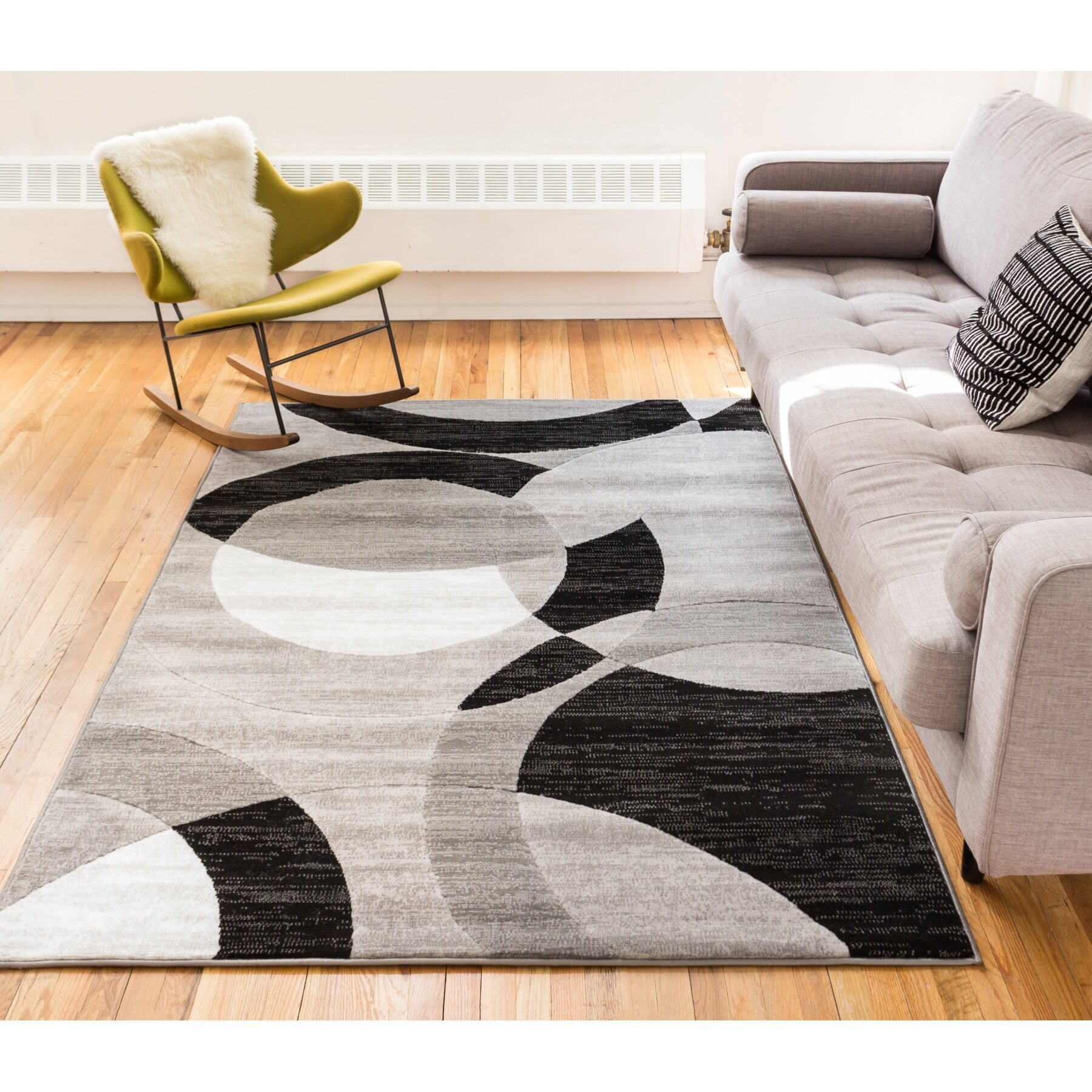 Well Woven Dulcet Gray Area Rug & Reviews