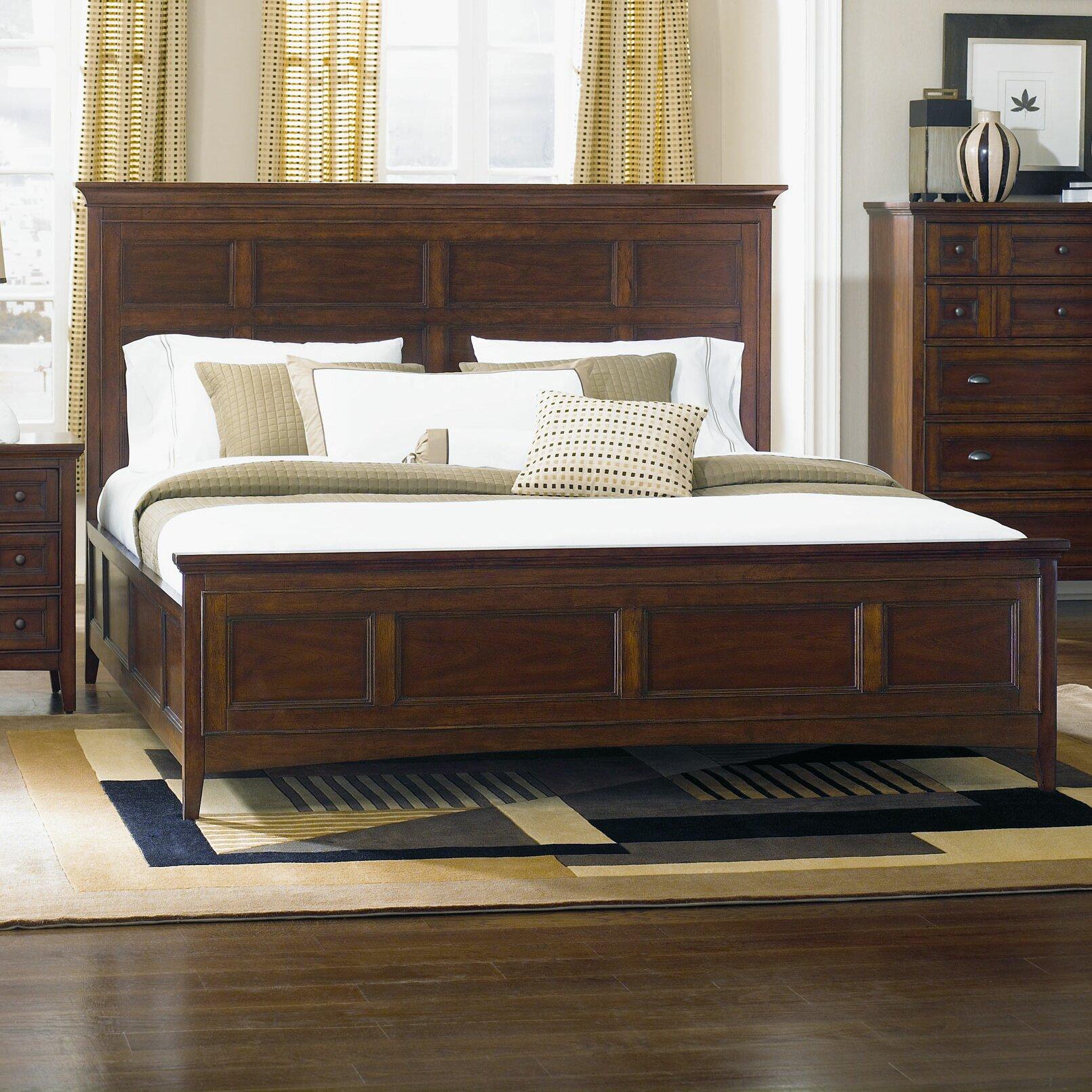 Magnussen Harrison Panel Bed Reviews Wayfair