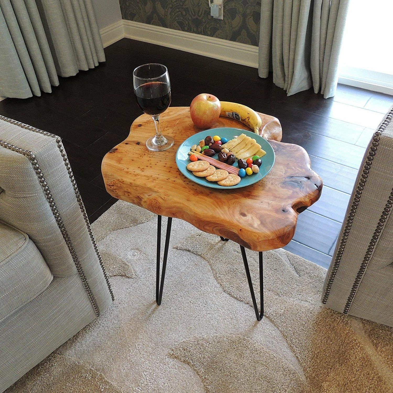 Welland industries llc cedar wood end table reviews for Abanos furniture industries decoration llc