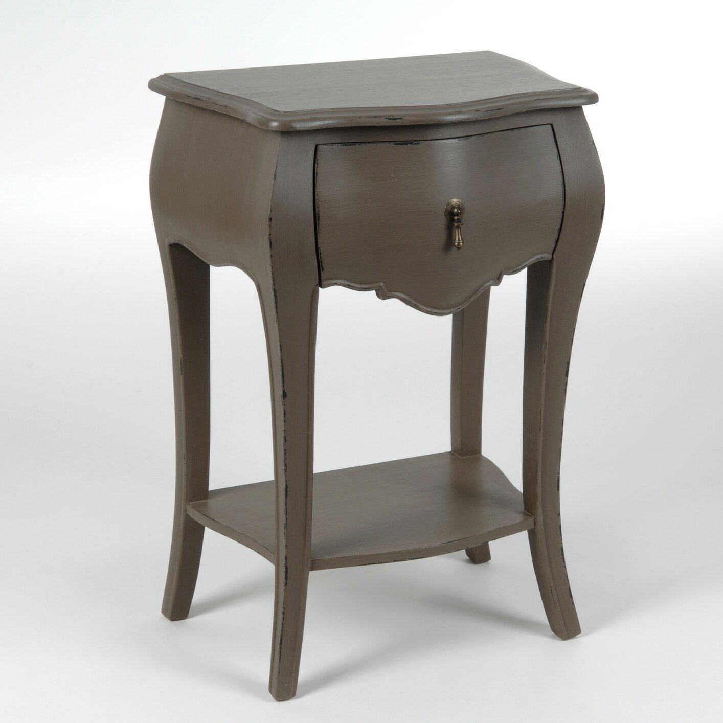 Ch teau chic tuscany 1 drawer bedside table wayfair uk for 1 drawer bedside table