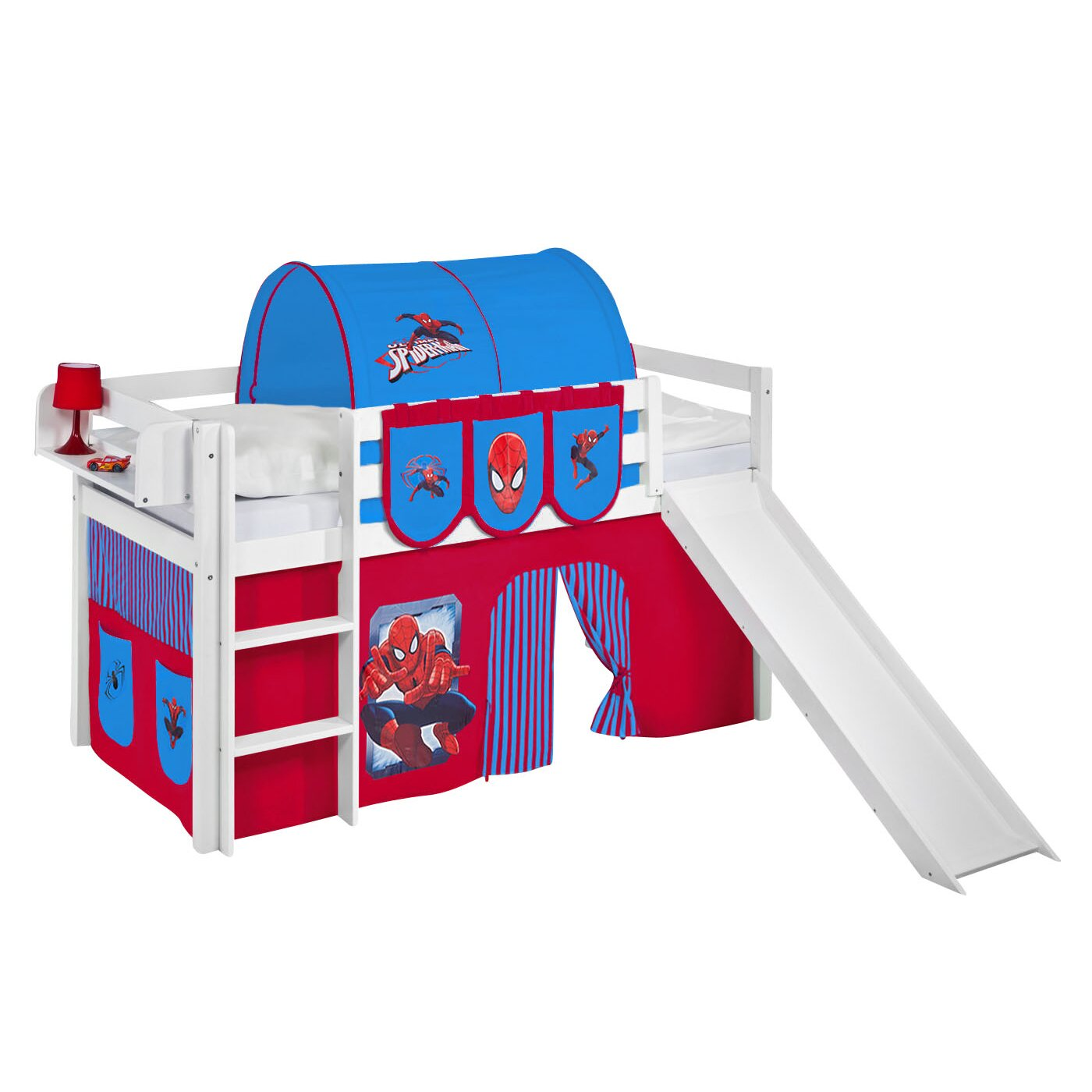 Spiderman Bunk Bed Curtain