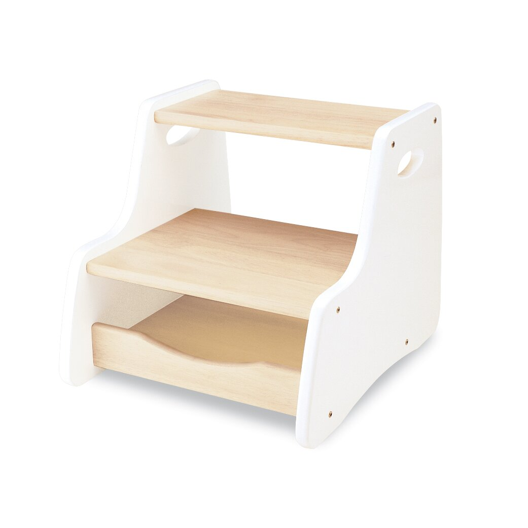 Wrigglebox step stool in white reviews wayfair uk Bathroom step stool for kids
