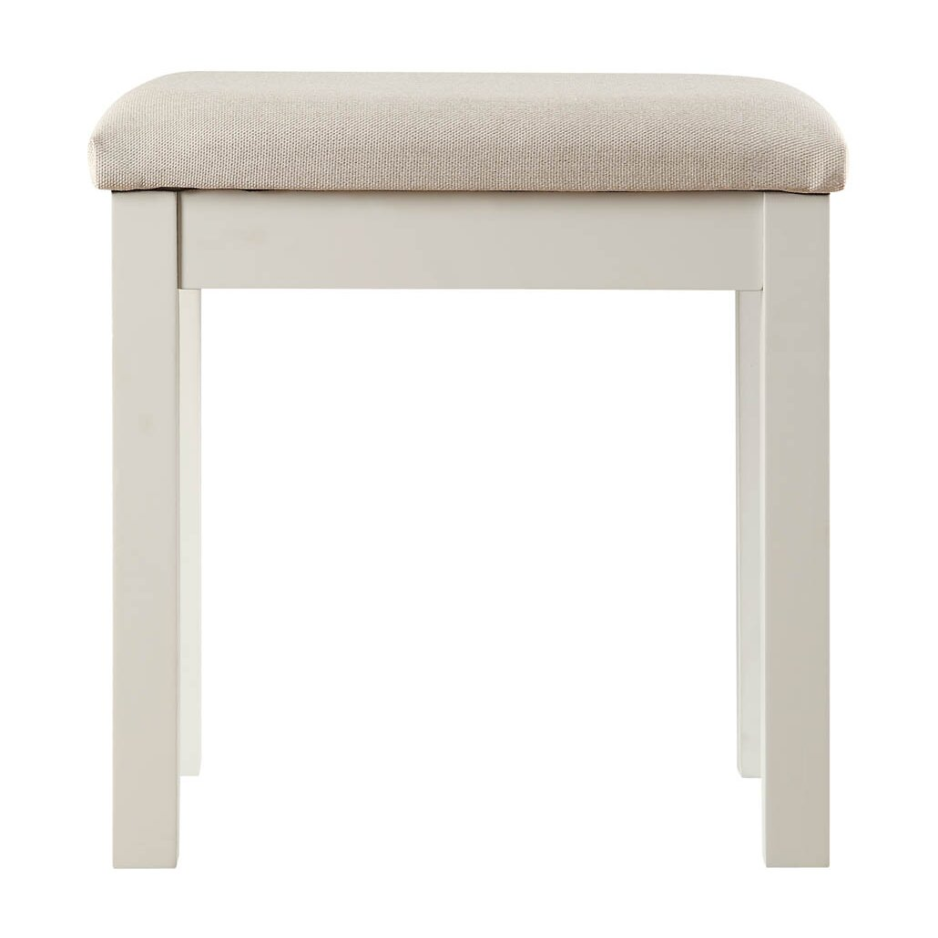 All home st ives upholstered dressing table stool for 90cm dressing table