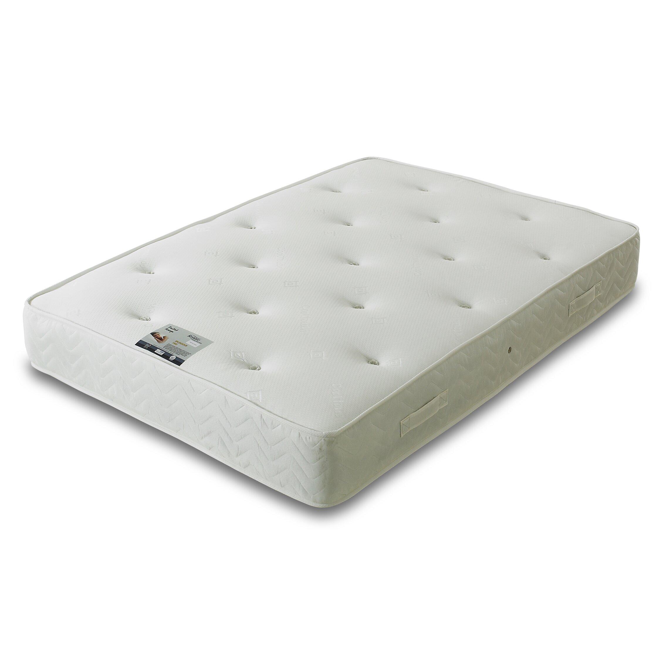 All home pocket sprung 1500 mattress reviews wayfair uk for Pocket sprung
