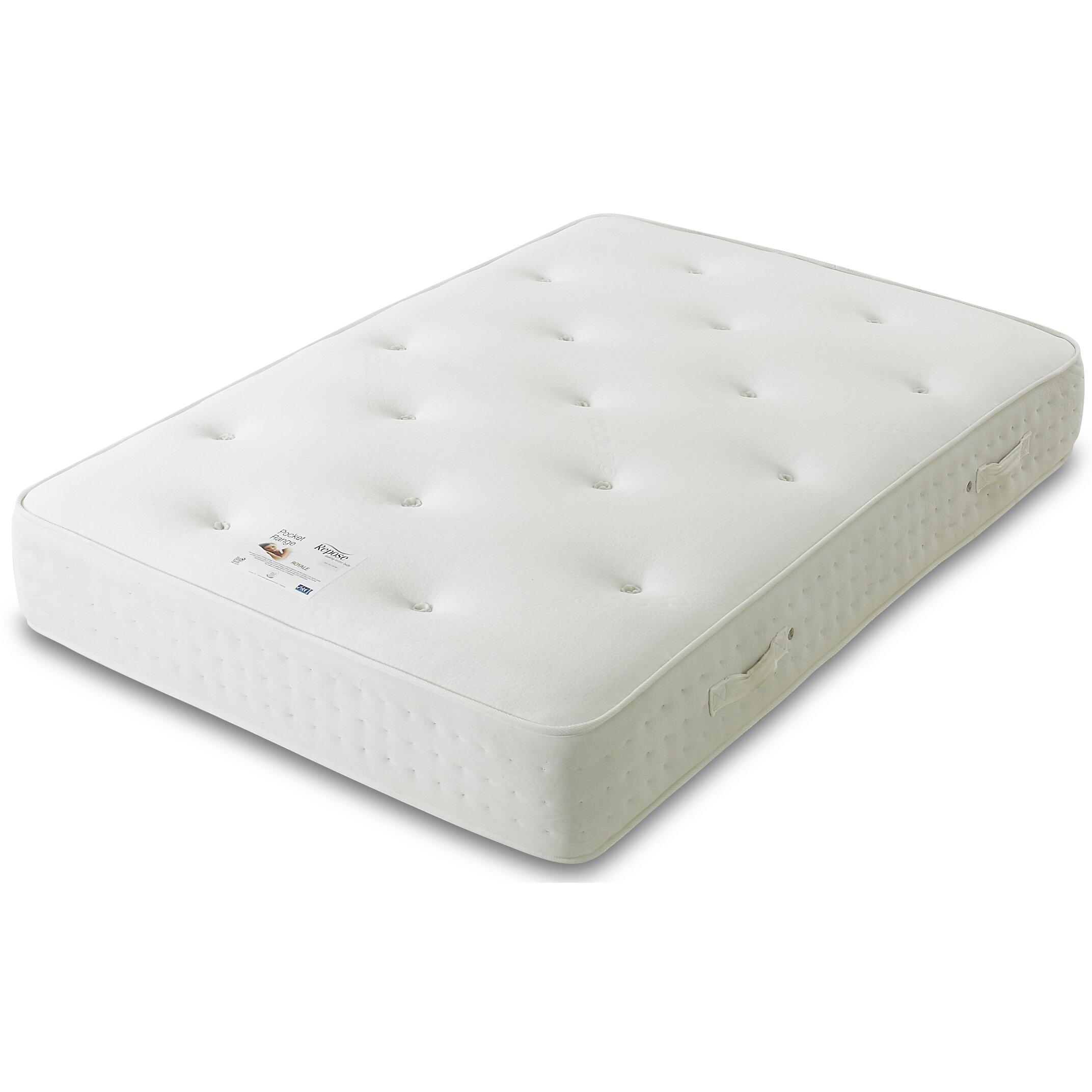 All home pocket sprung 1500 mattress wayfair uk for Pocket sprung