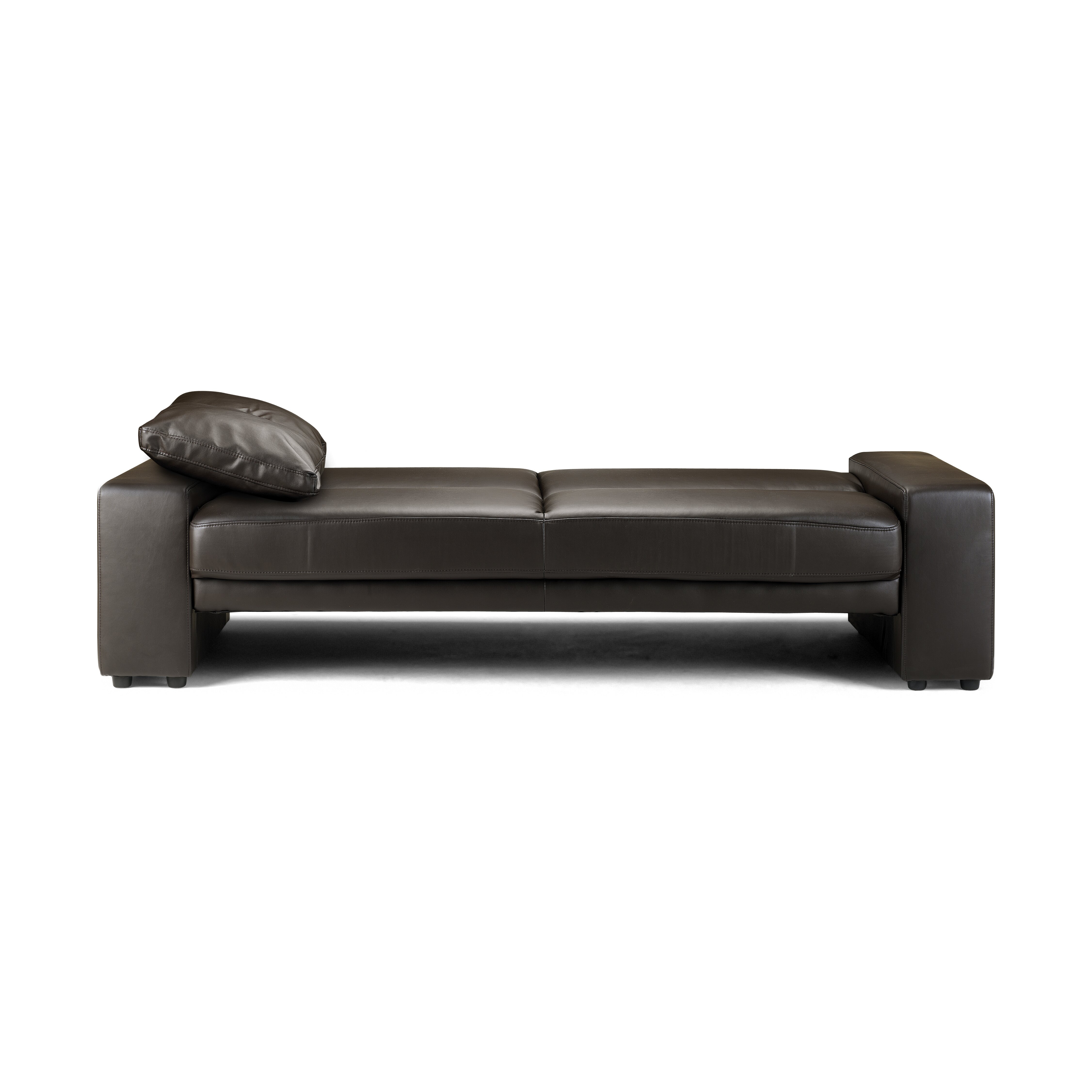 all home gibson 3 seater clic clac sofa bed reviews. Black Bedroom Furniture Sets. Home Design Ideas