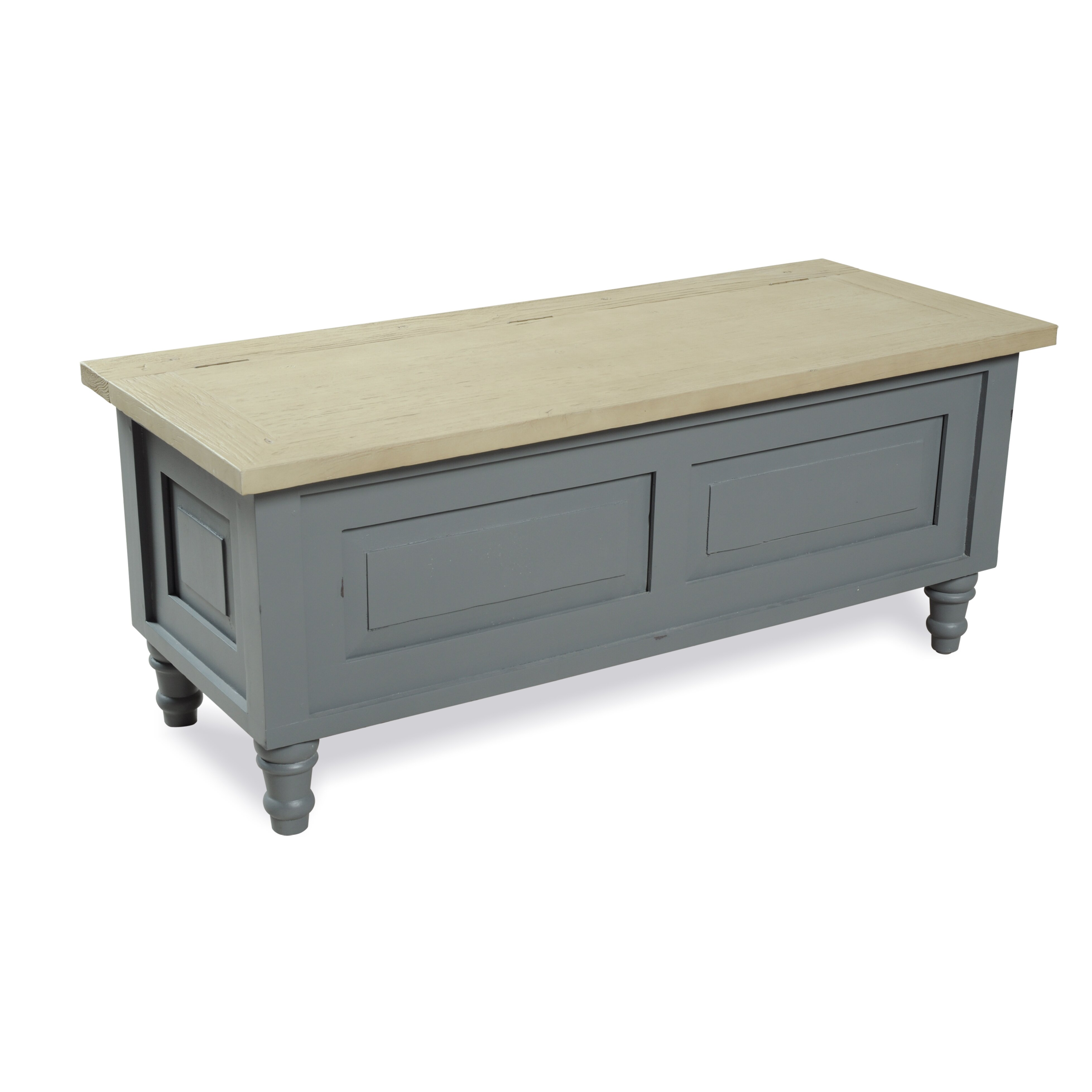 homestead living wood storage bedroom bench wayfair uk