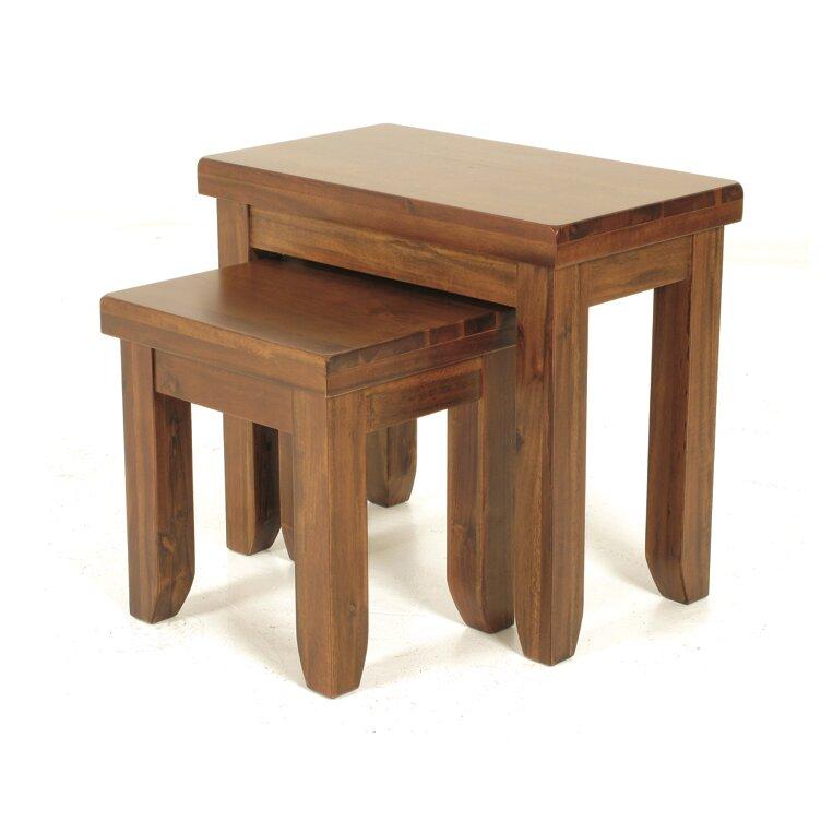 Homestead Living Matarazz 2 Piece Nest Of Tables Wayfair Uk