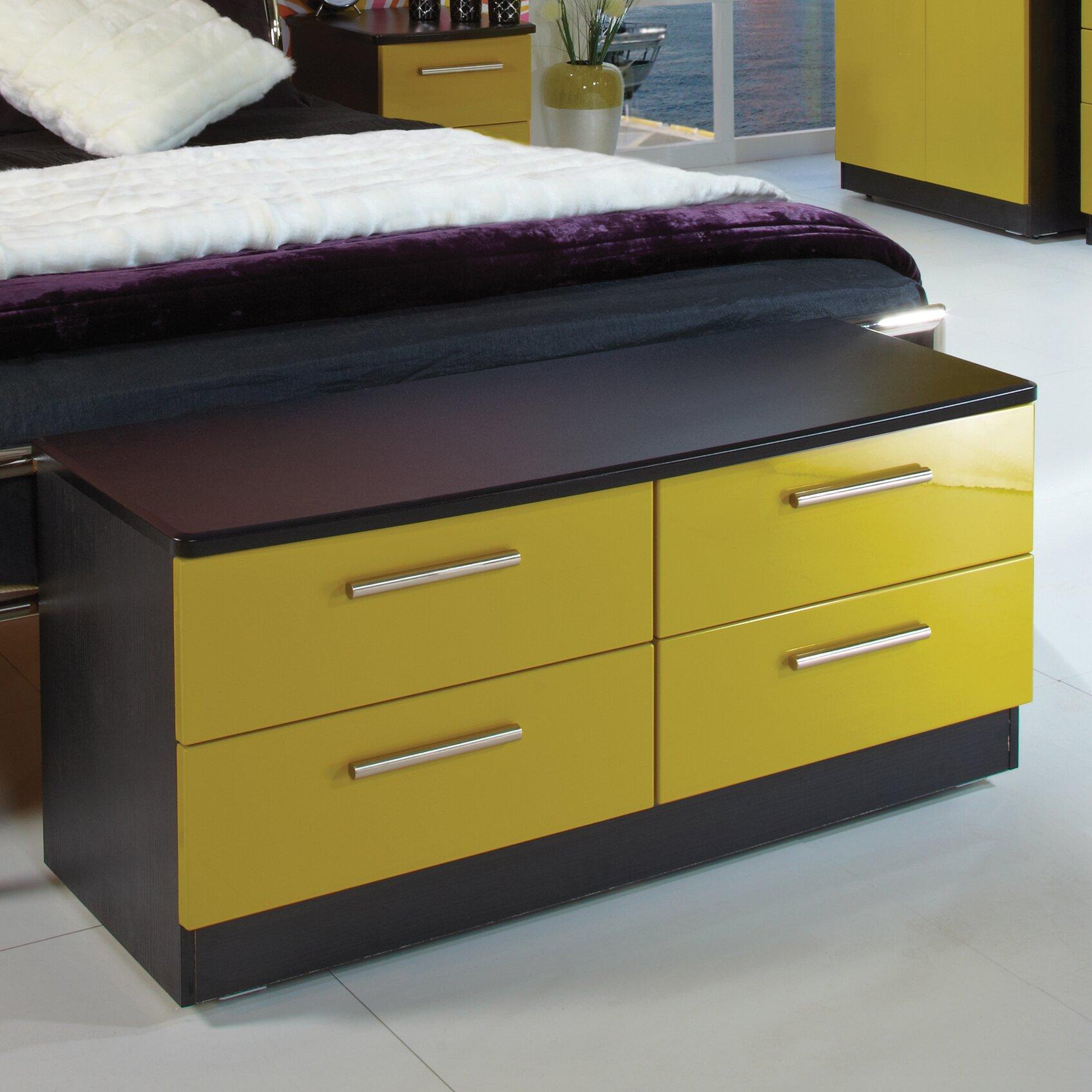 Homestead living knightsbridge drawer chest of drawers