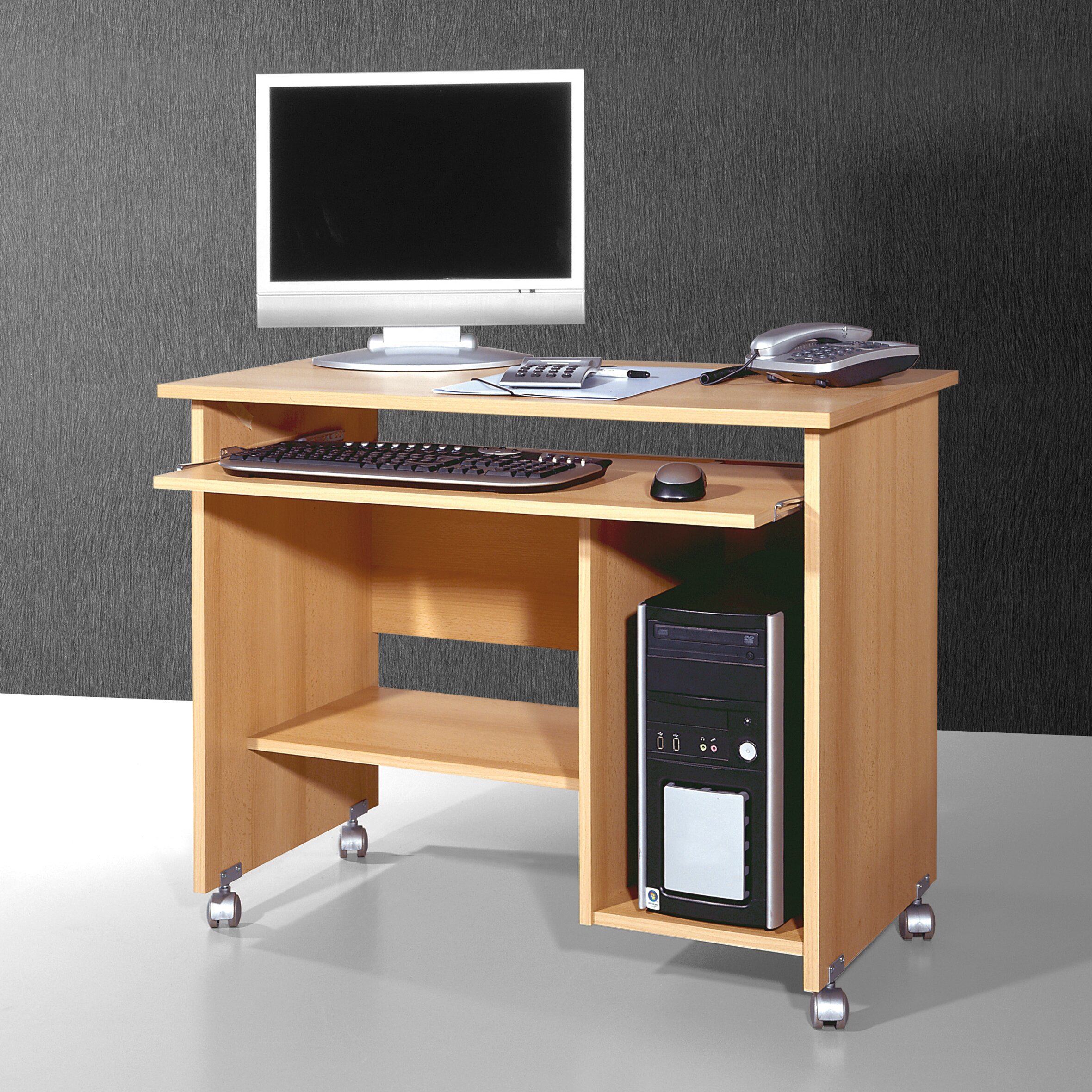 Home etc computer desk with keyboard tray reviews for Mobel computertisch