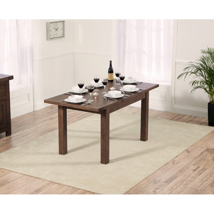 Home Etc Ritual Dark Extendable Dining Table And 4 Chairs Wayfair Uk