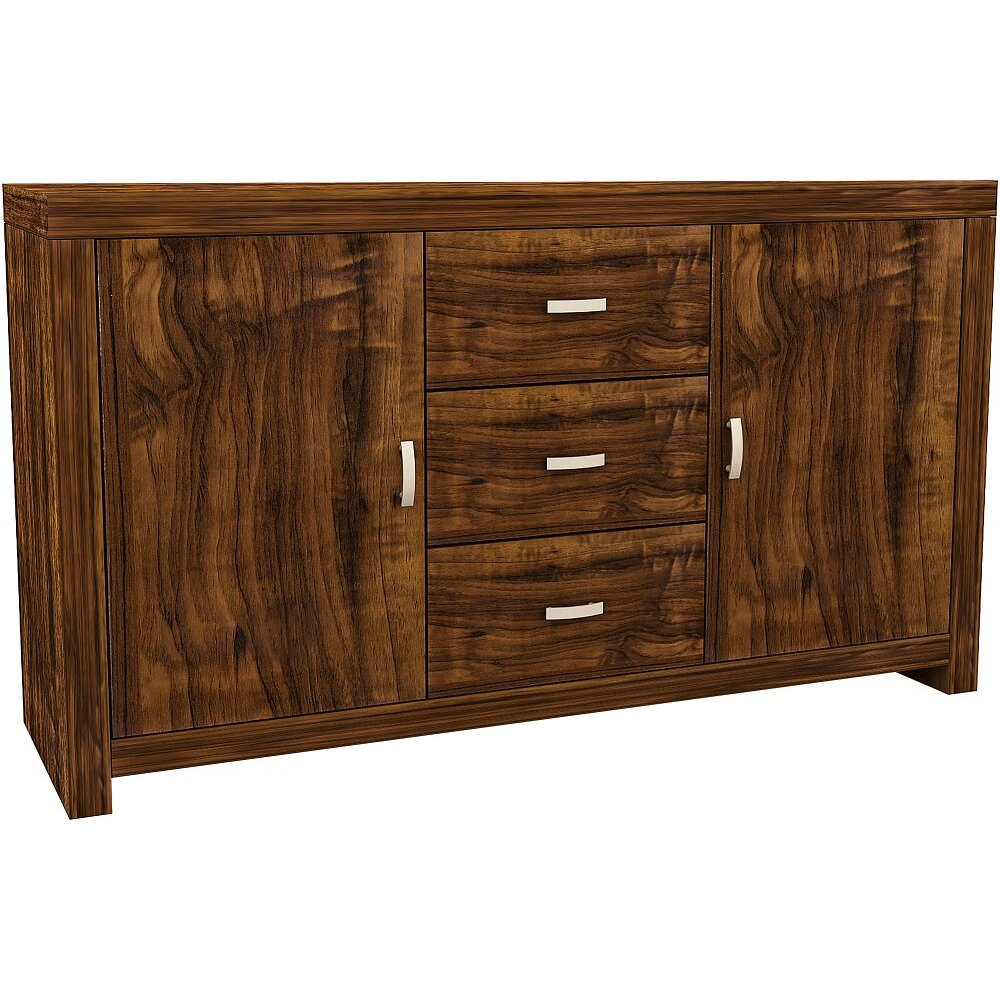 house additions macorna 2 door 3 drawer sideboard. Black Bedroom Furniture Sets. Home Design Ideas