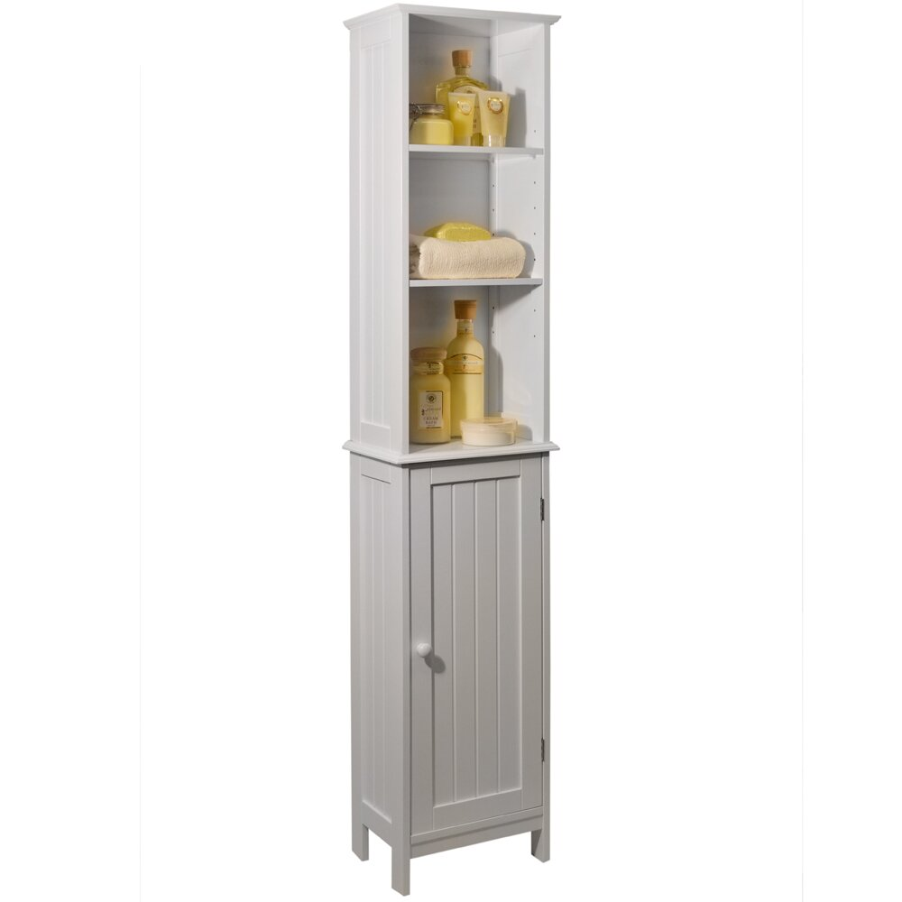 House Additions 34 5 X 165cm Free Standing Tall Bathroom Cabinet Reviews Wayfair Uk