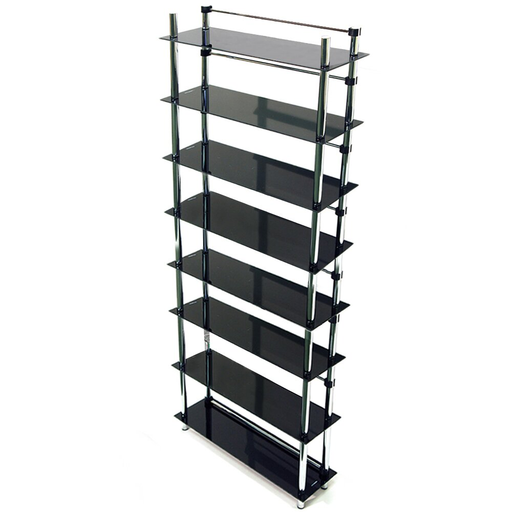 house additions maxwell 164cm etagere reviews wayfair uk. Black Bedroom Furniture Sets. Home Design Ideas