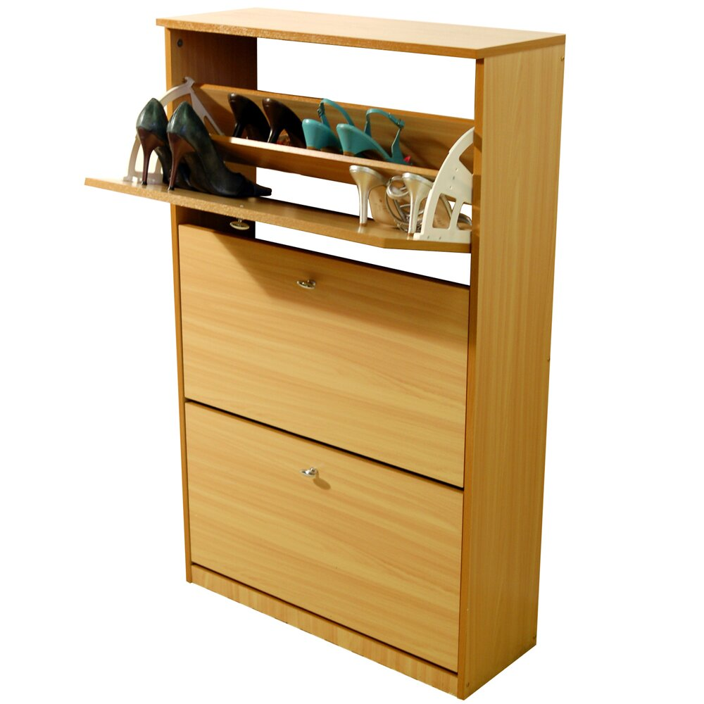 House additions compact shoe cabinet reviews wayfair uk for Shoe cabinet