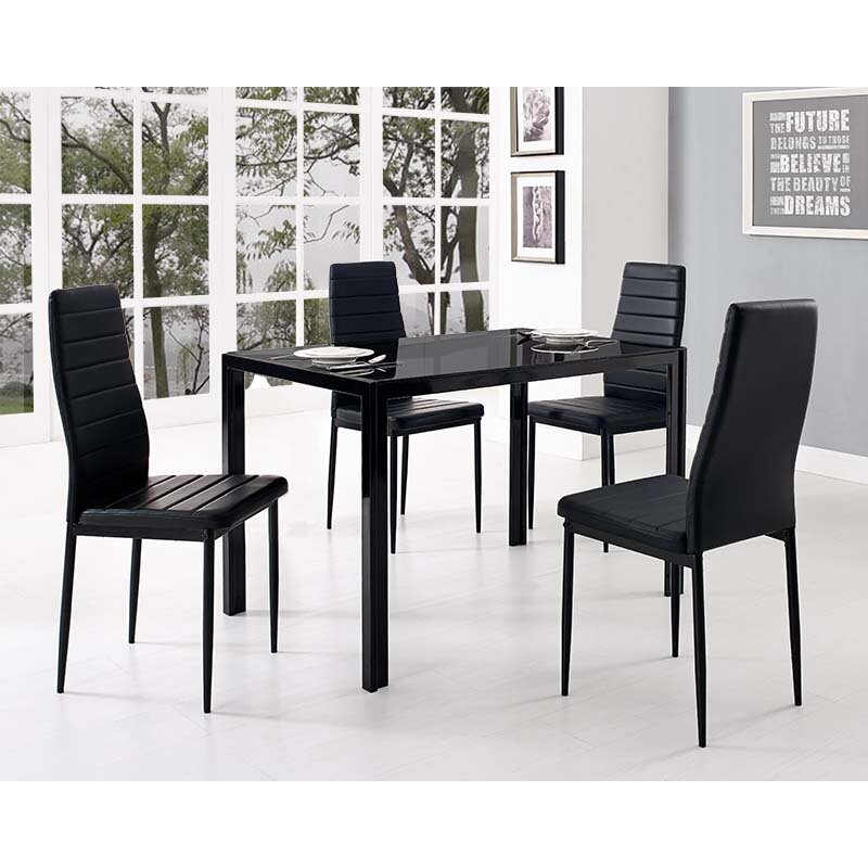 Home Haus Dining Table And 4 Chairs Reviews Wayfair Uk