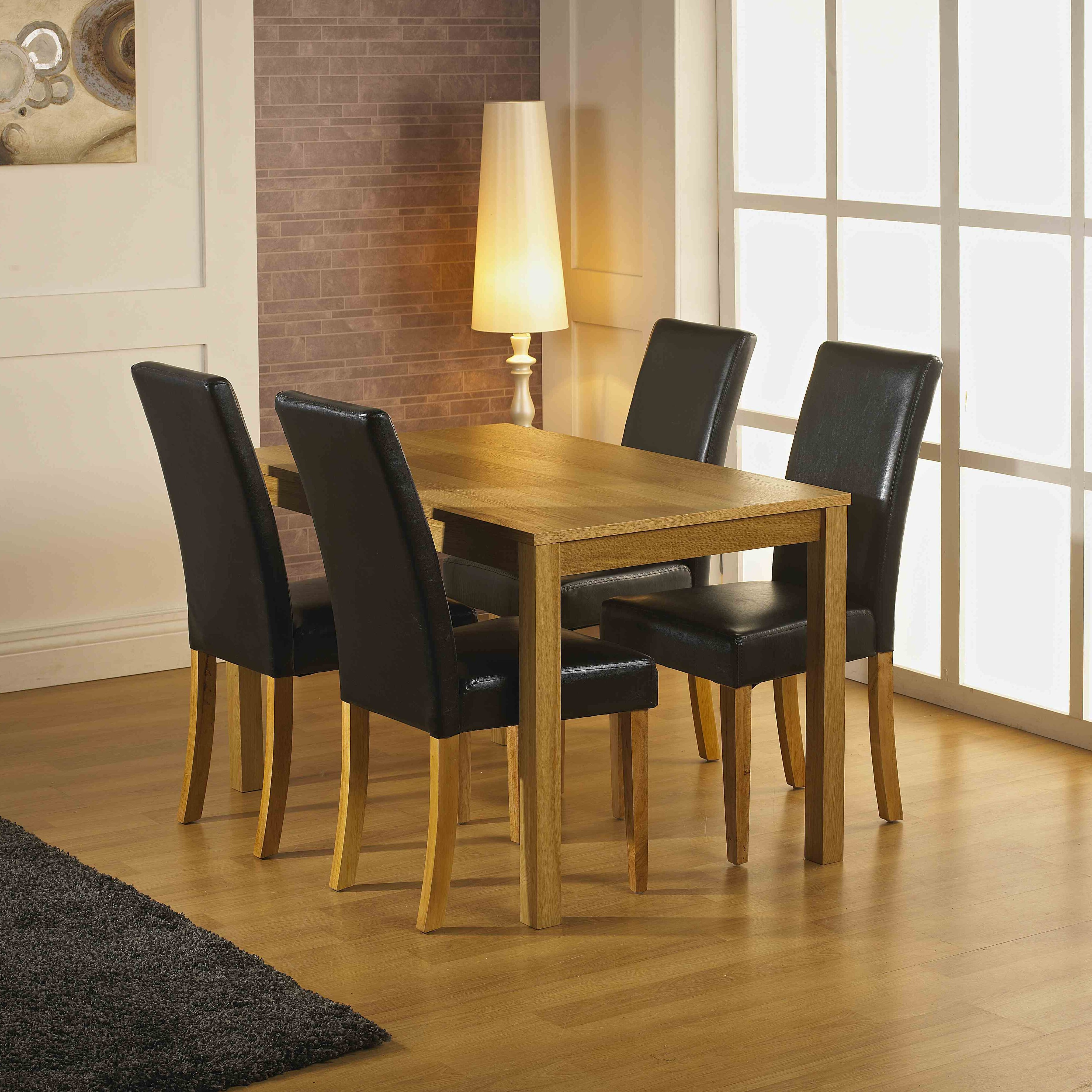 Home Haus Innisfail Dining Table And 4 Chairs Reviews Wayfair Uk